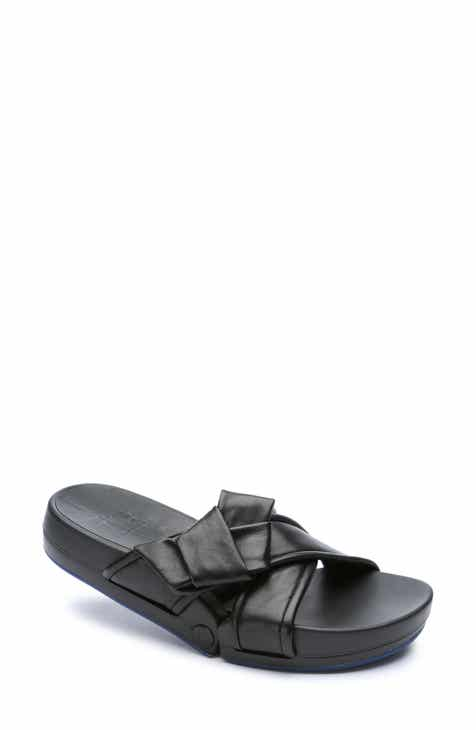 Figs by FIGUEROA Figomatic Bow Slide Sandal (Women)