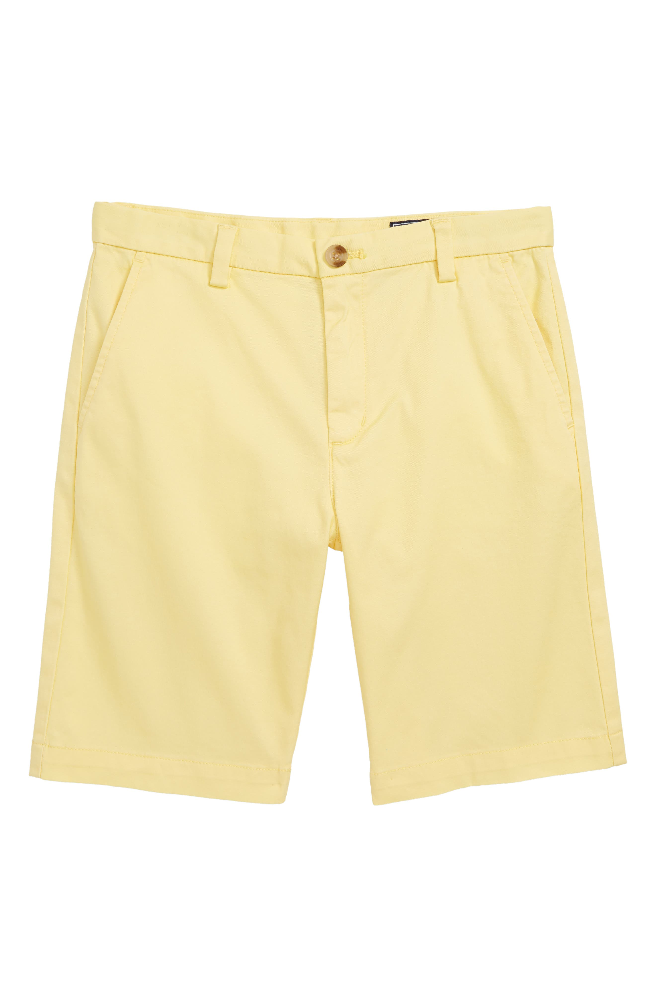 Stretch Breaker Shorts,                         Main,                         color, Lemon Drop