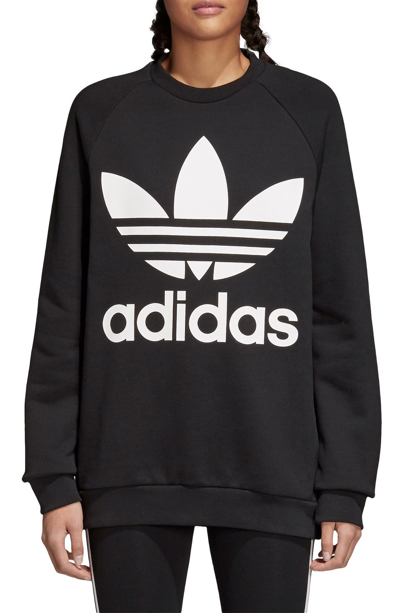 Alternate Image 1 Selected - adidas Originals Oversize Sweatshirt
