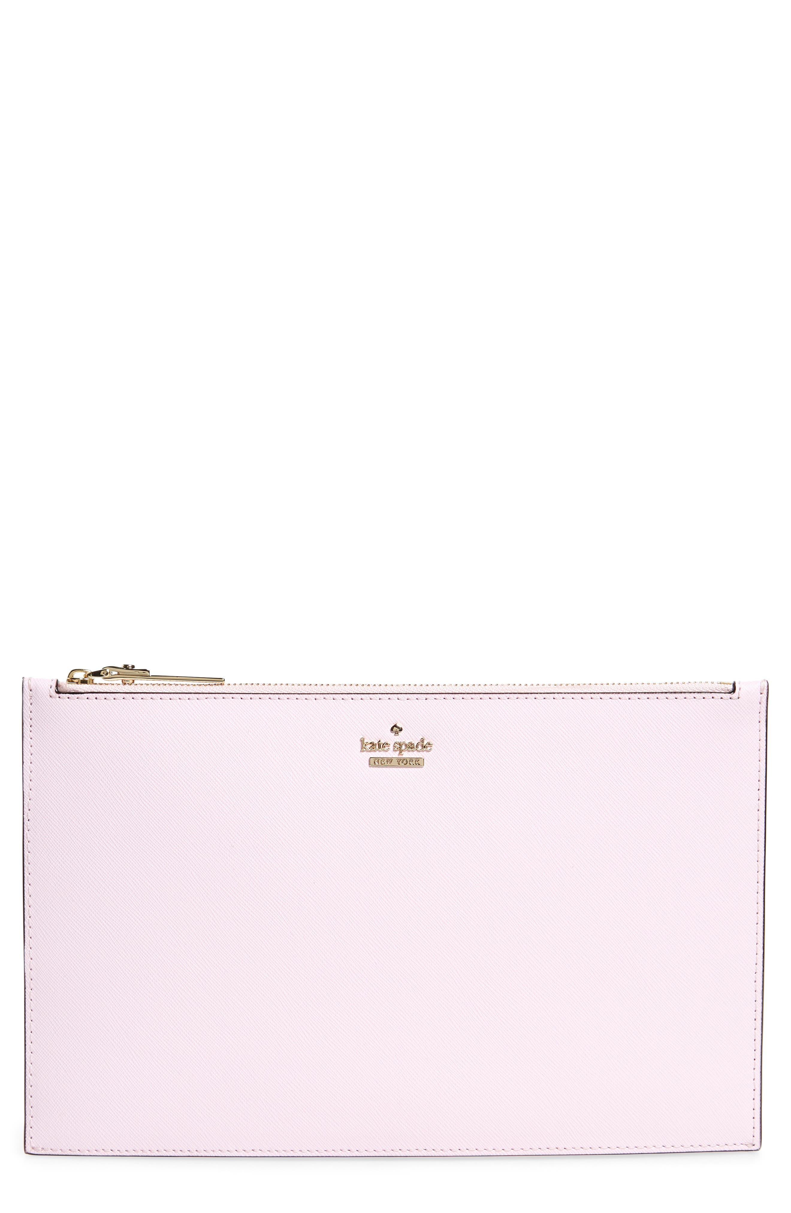 kate spade new york cameron street lilia leather clutch