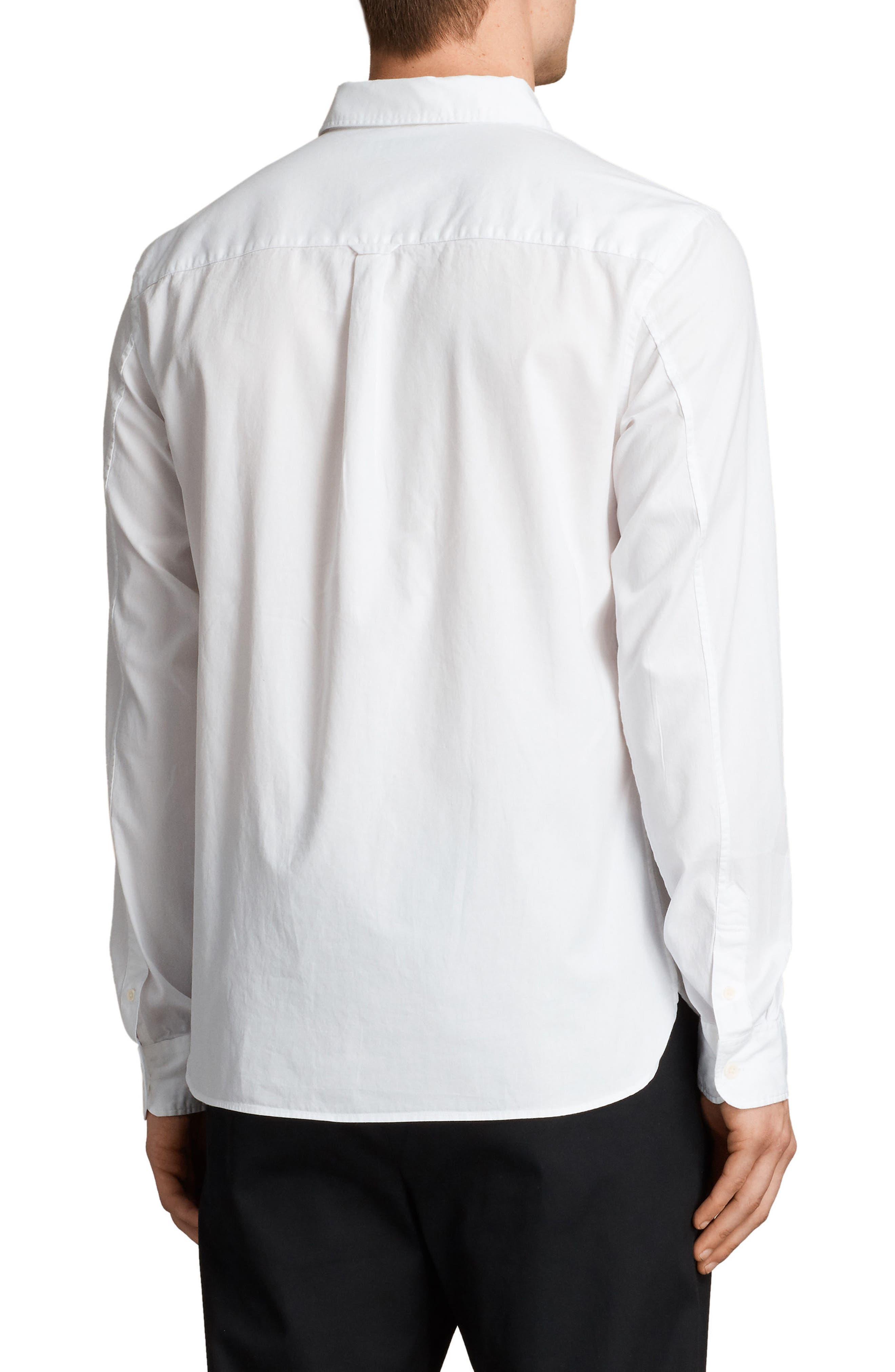 Redondo Slim Fit Shirt,                             Alternate thumbnail 3, color,                             White