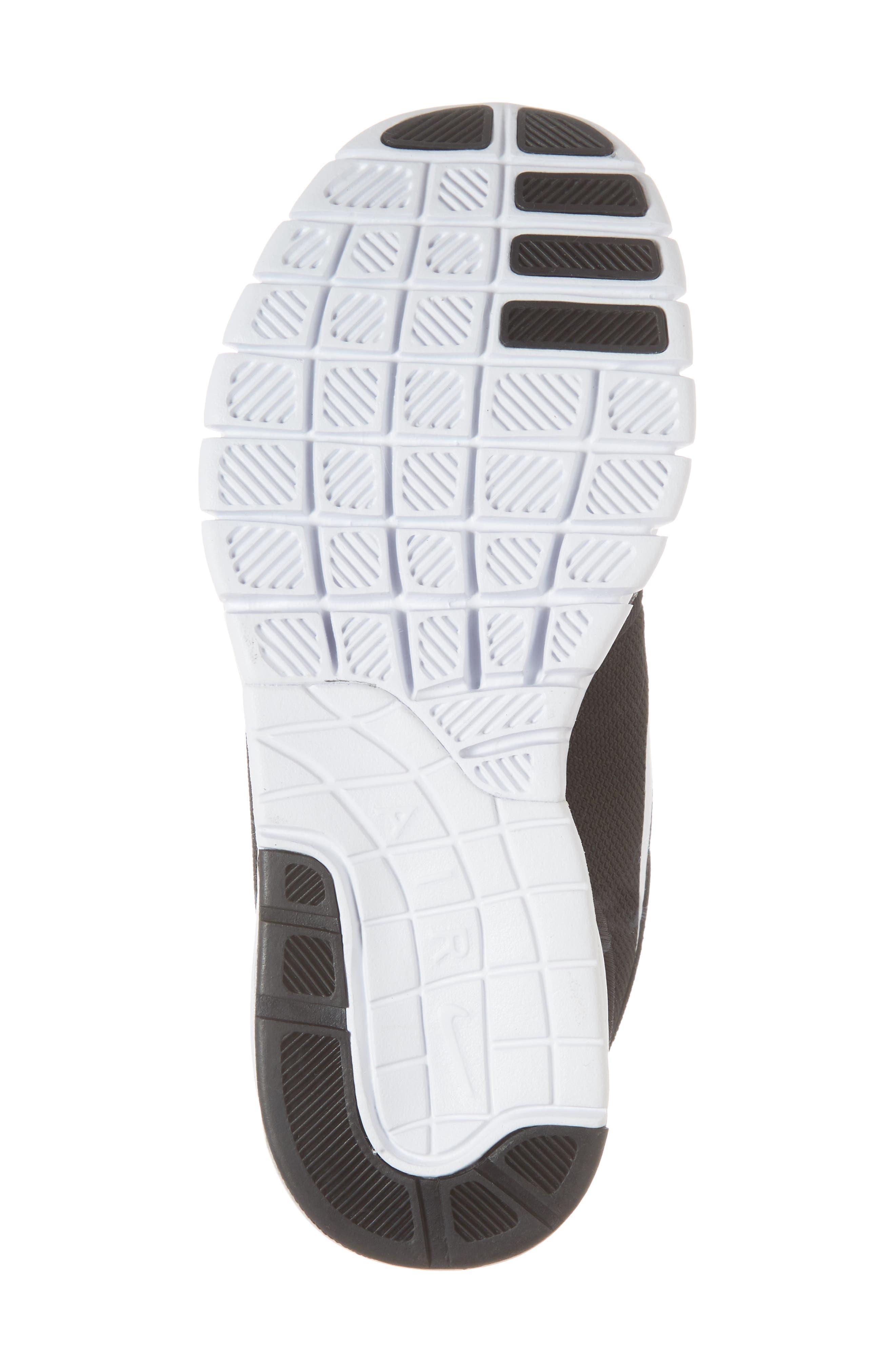 Stefan Janoski Max SB Skate Sneaker,                             Alternate thumbnail 6, color,                             Black/ White/ White