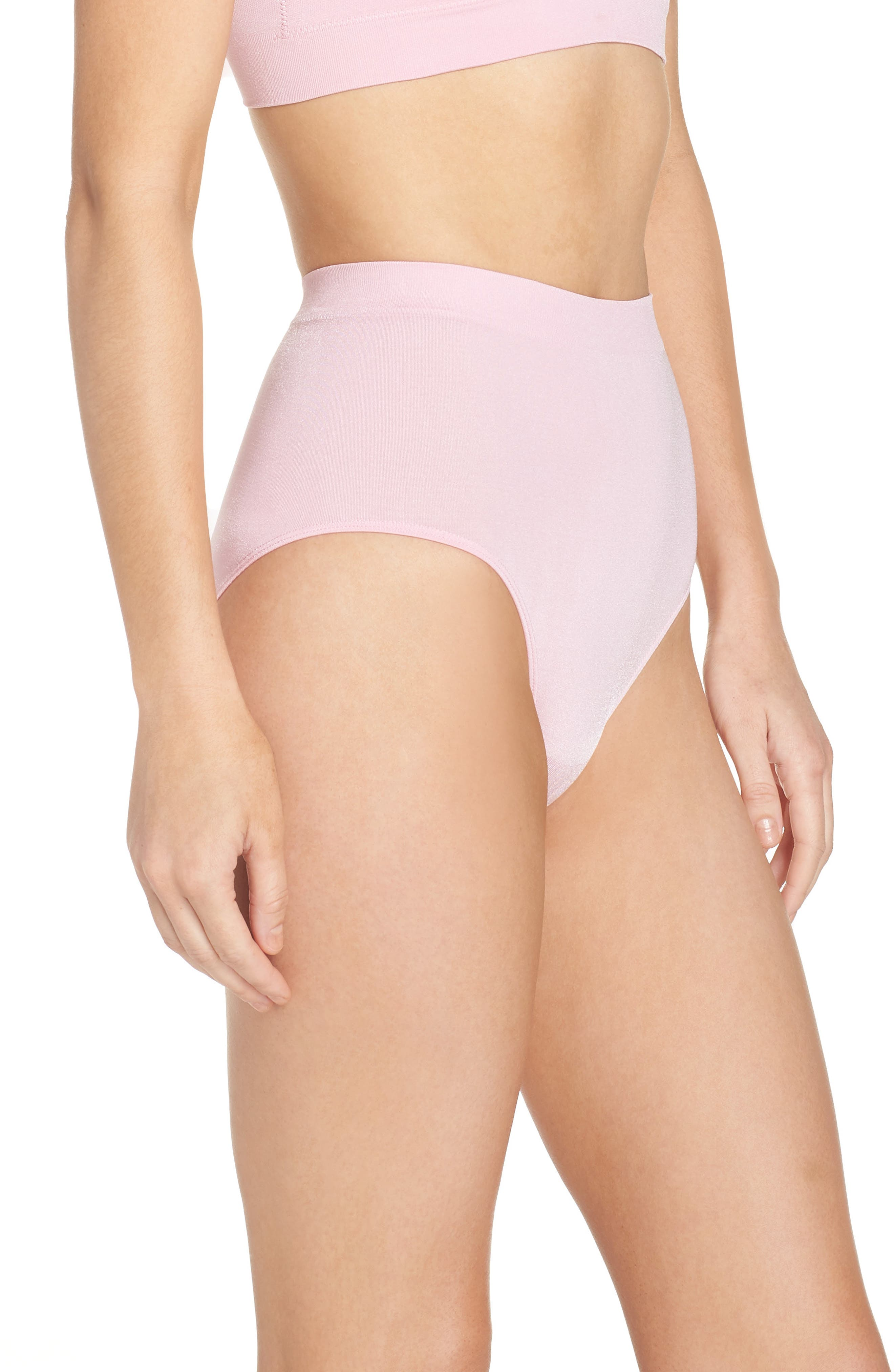 B Smooth Briefs,                             Alternate thumbnail 3, color,                             Cameo Pink