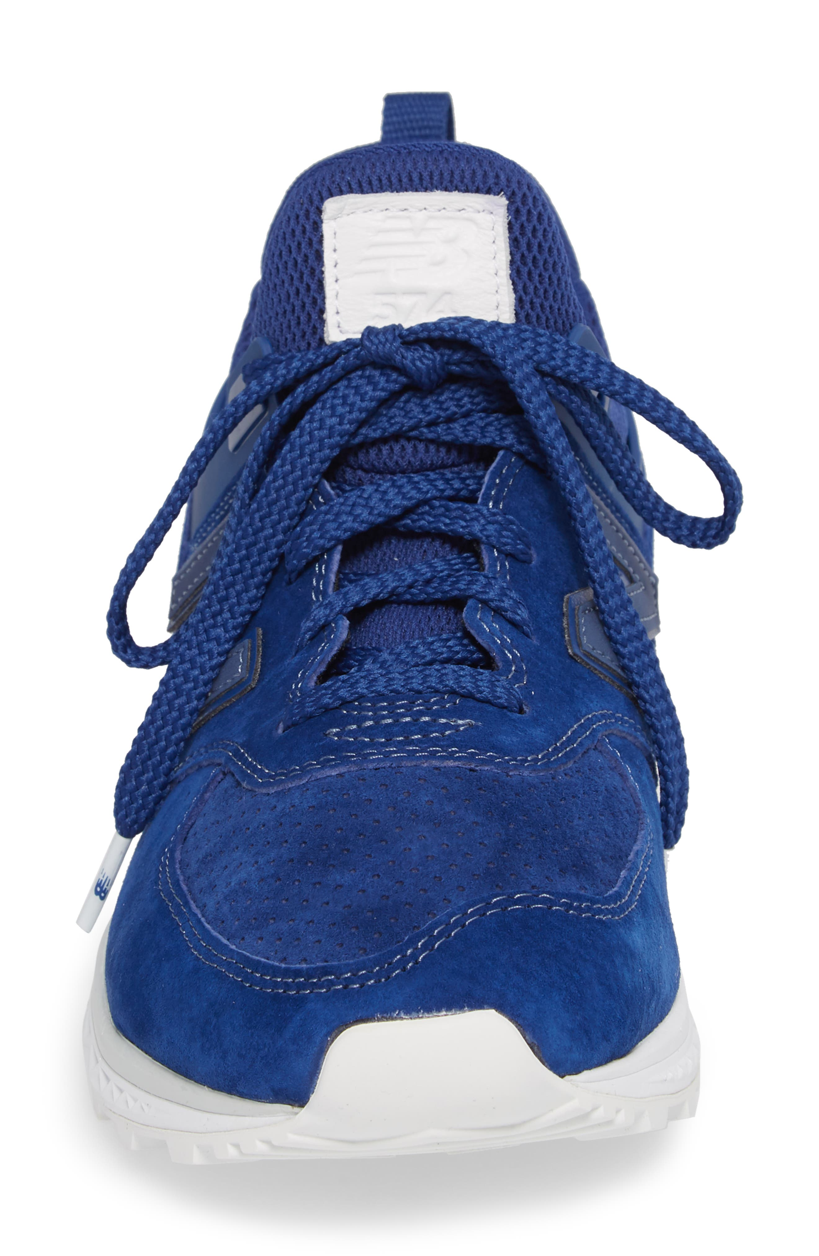 574 Sport Sneaker,                             Alternate thumbnail 4, color,                             Atlantic