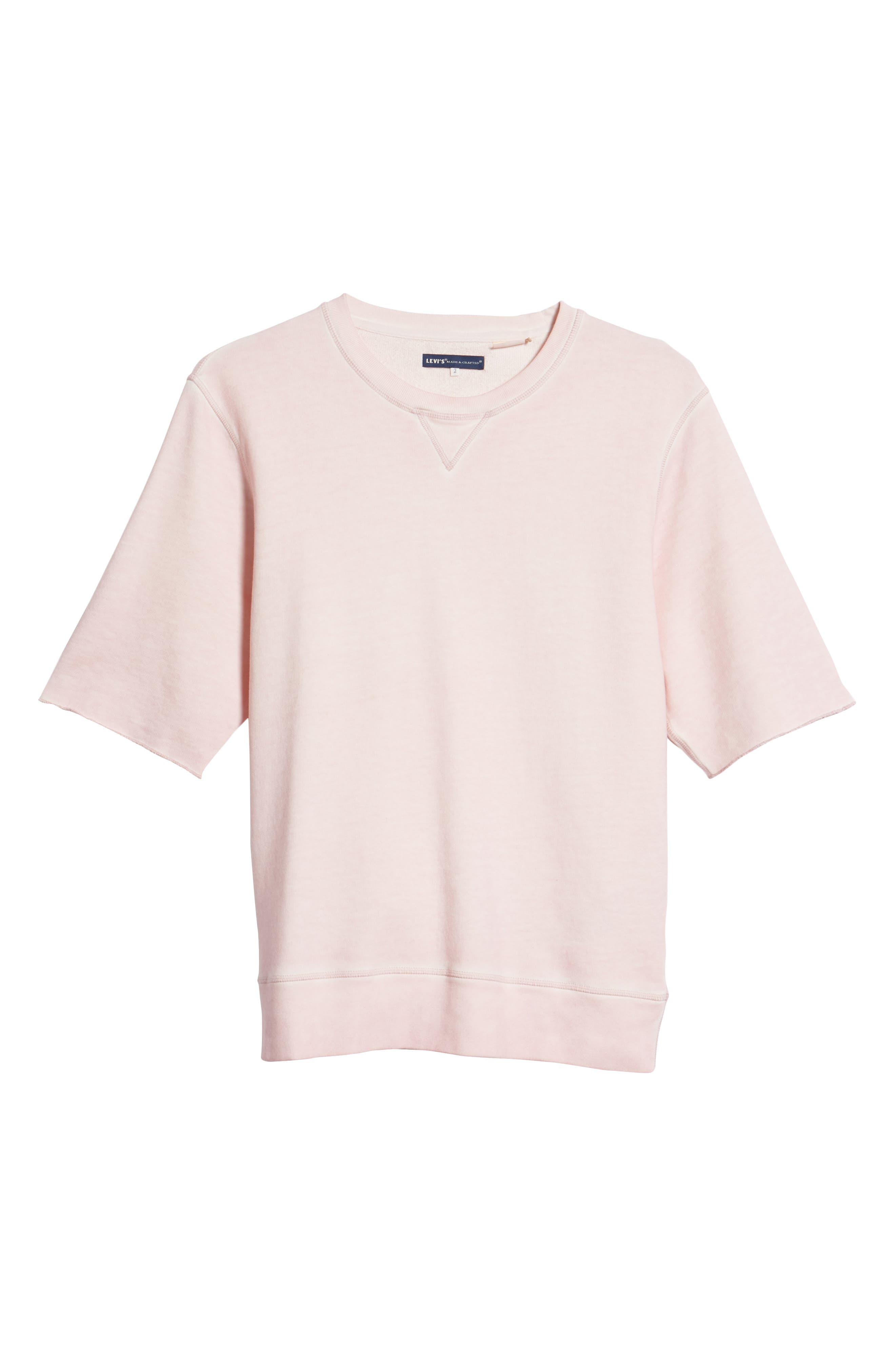 Levis'<sup>®</sup> Made & Crafted<sup>™</sup> Standard Fit T-Shirt,                             Alternate thumbnail 6, color,                             Keepsake Lilac