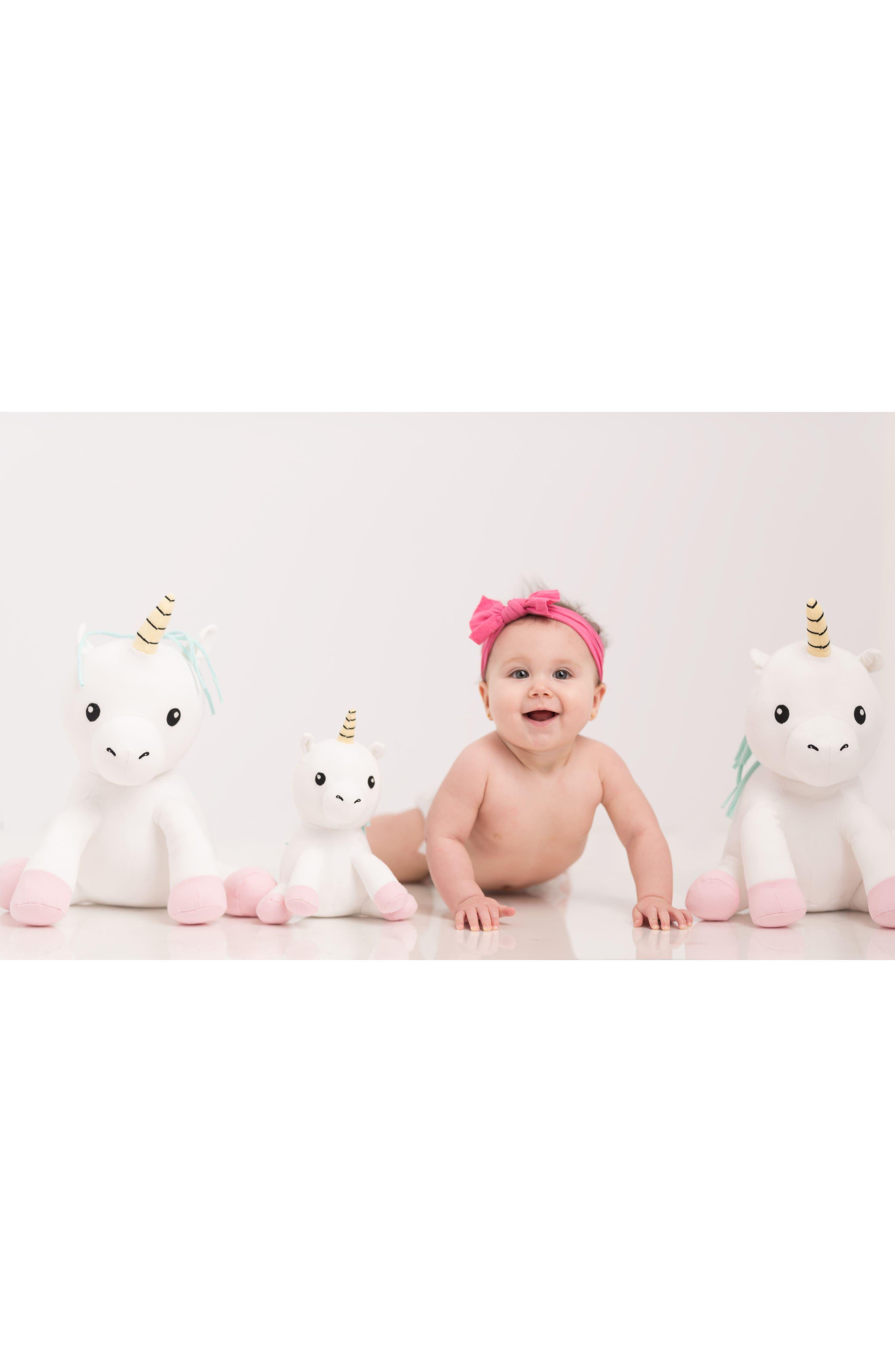Small Cupcake Unicorn Stuffed Animal,                             Alternate thumbnail 5, color,                             White