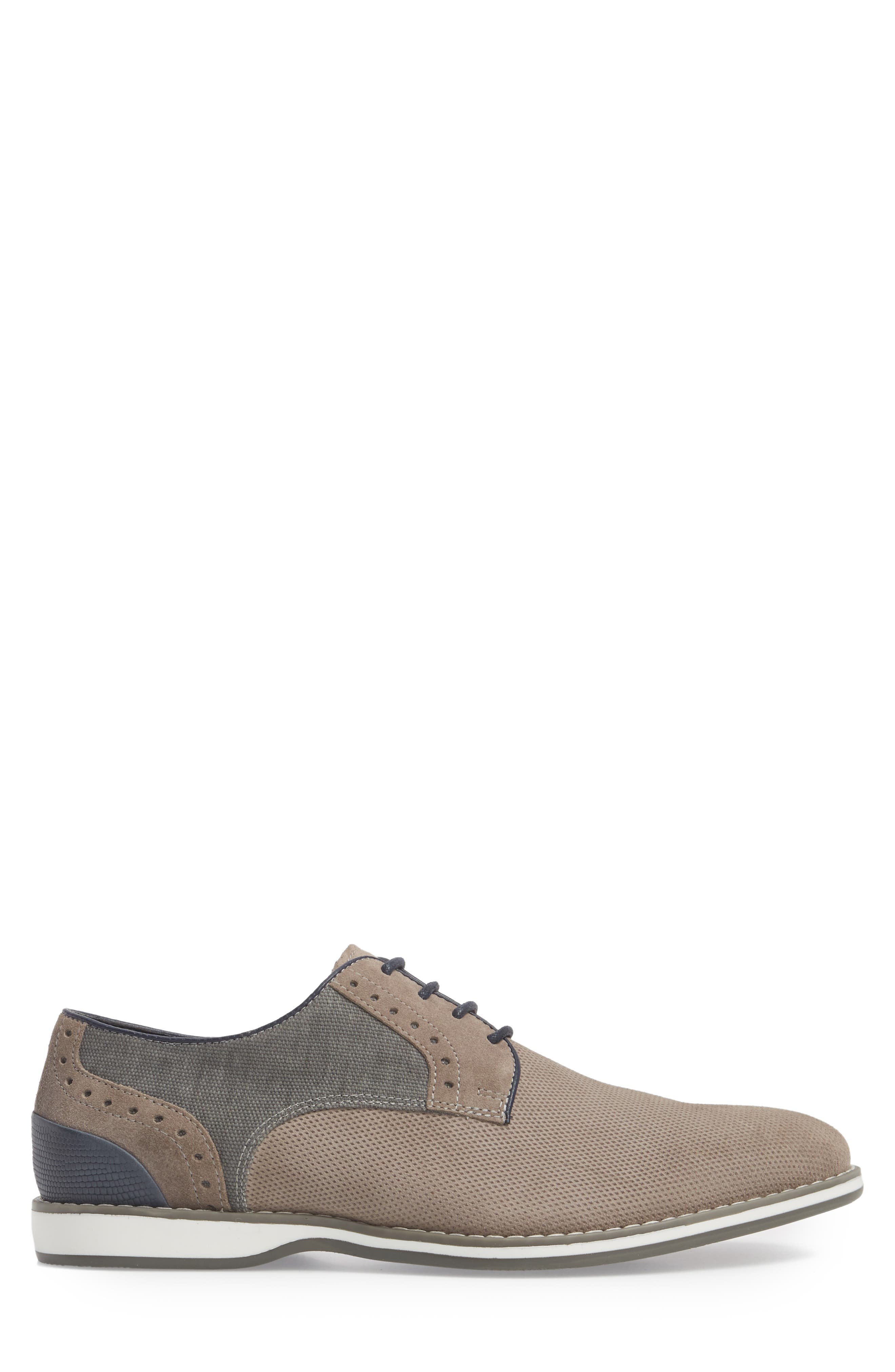 Weiser Lace-up Derby,                             Alternate thumbnail 3, color,                             Grey