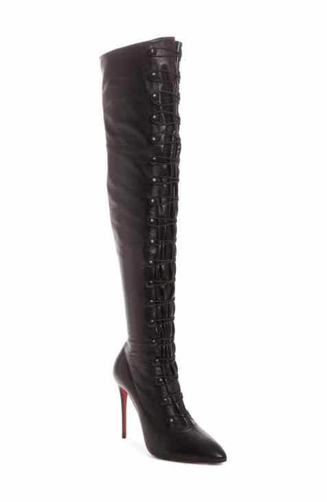 b6579f82795 Christian Louboutin French Tutu Over the Knee Boot (Women)