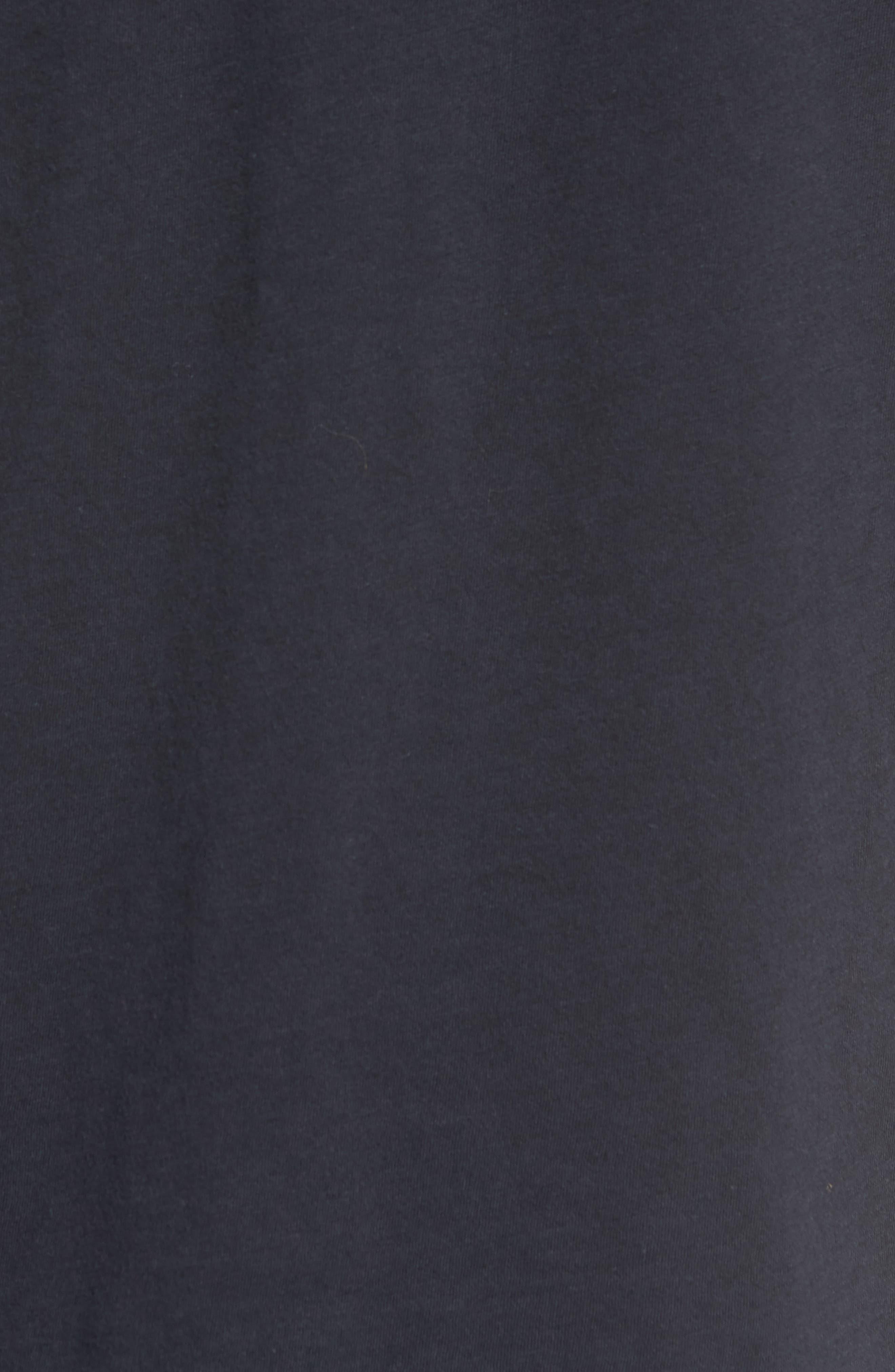 Jimi Hendrix Trim Fit T-Shirt,                             Alternate thumbnail 5, color,                             Black Rock Hendrix