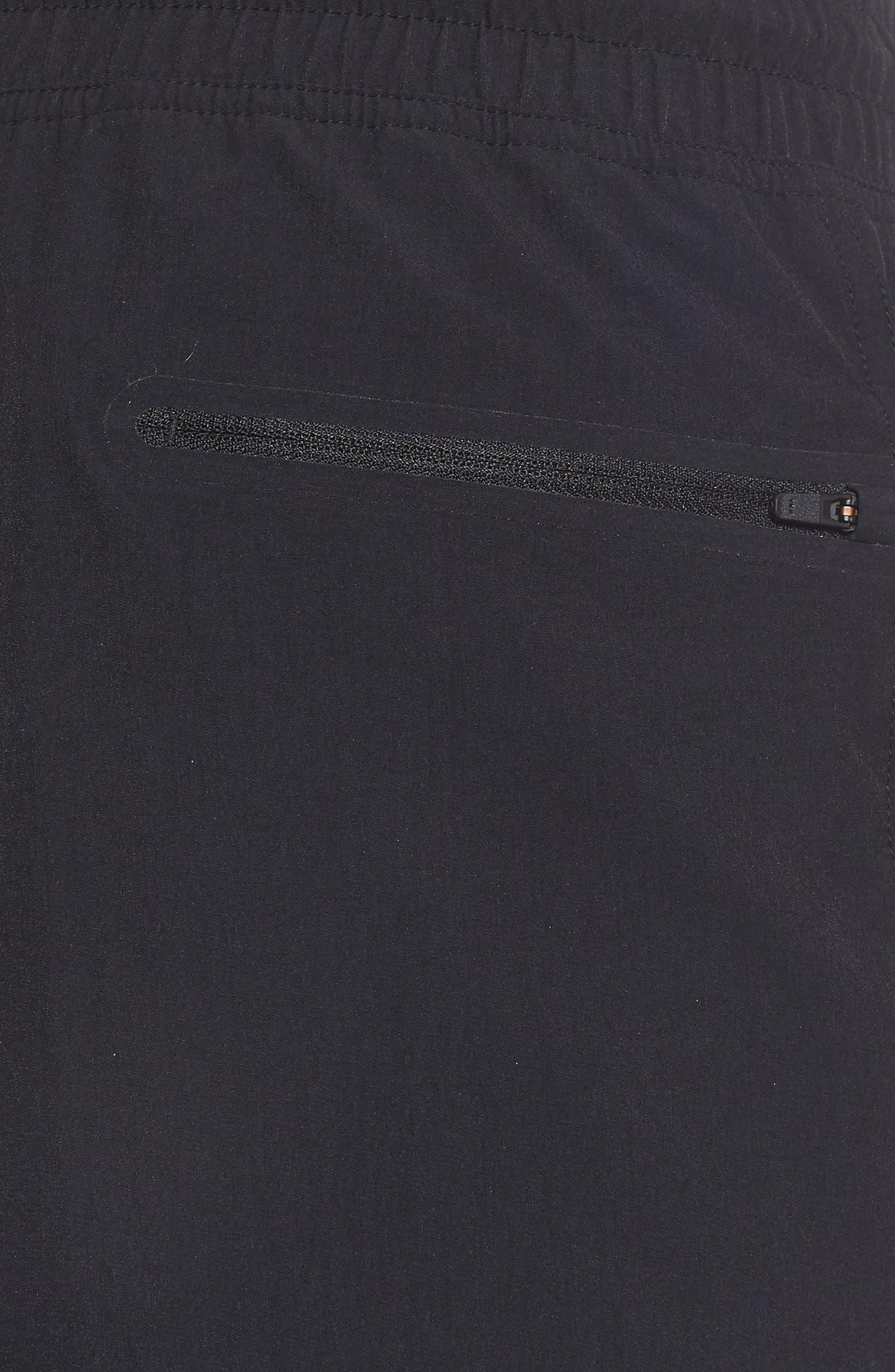 NSW Franchise GX1 Shorts,                             Alternate thumbnail 5, color,                             Black/ Black