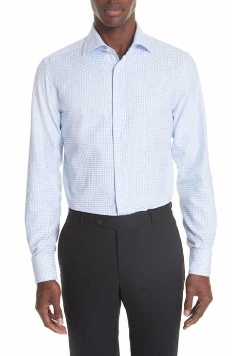 Nordstrom Men's Shop Trim Fit Non-Iron Solid Dress Shirt ...  From Dress Shirts Nordstrom
