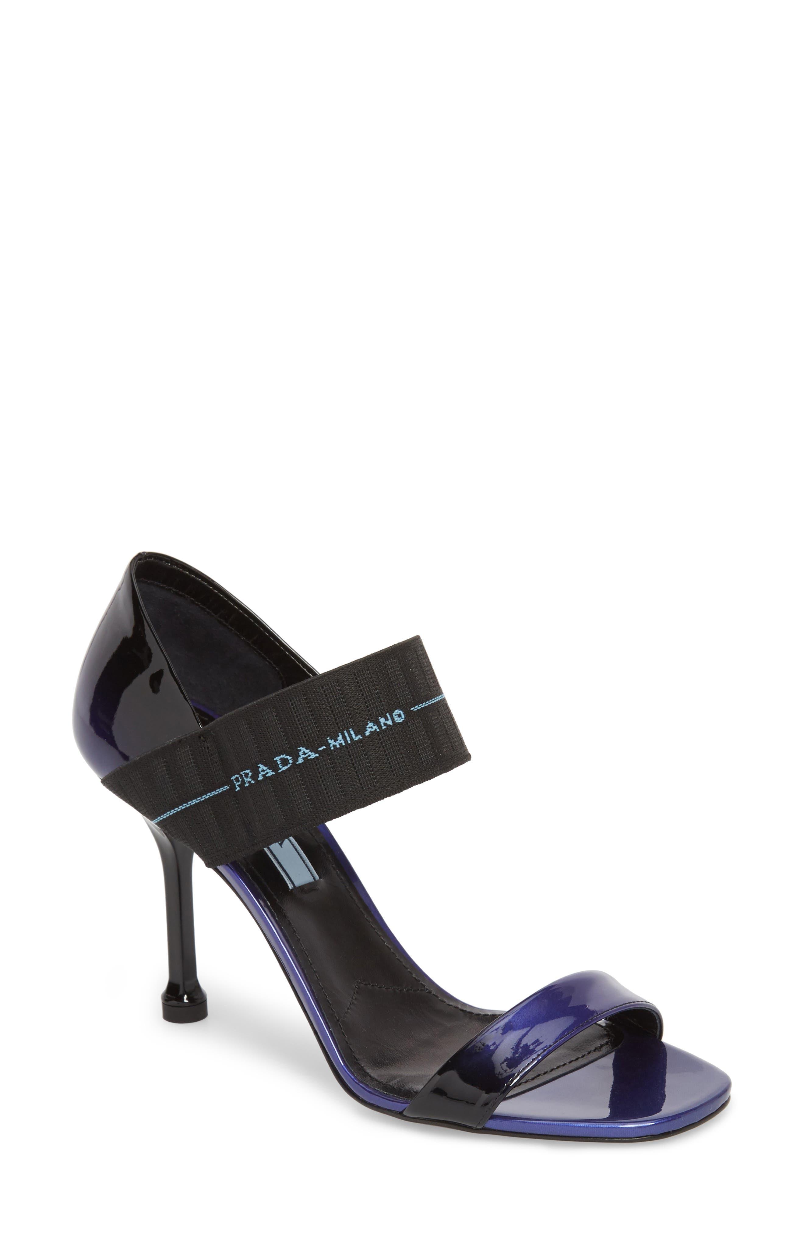 Ombré Banded Sandal by Prada