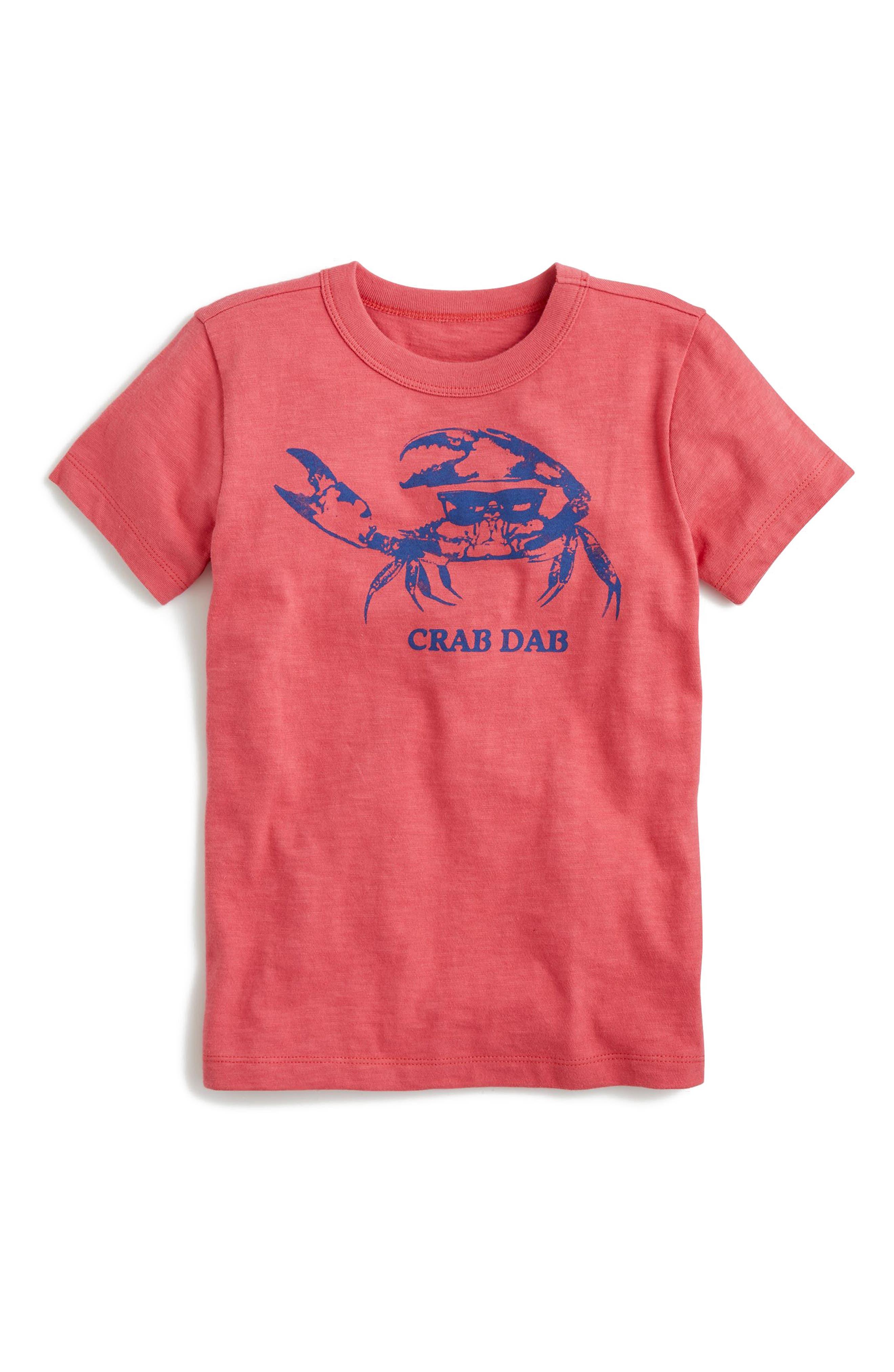 Sea Creature Graphic T-Shirt,                         Main,                         color, Pale Barn