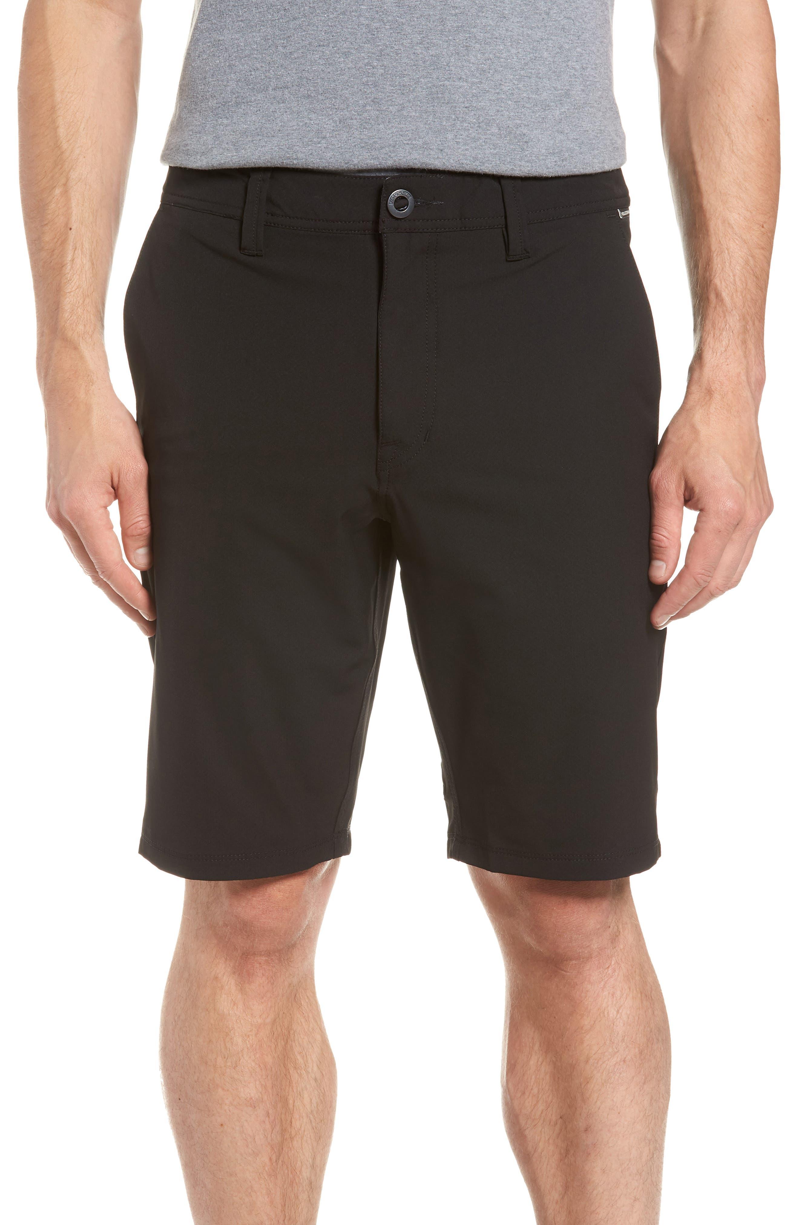 SNT Dry Hybrid Shorts,                             Main thumbnail 1, color,                             Black