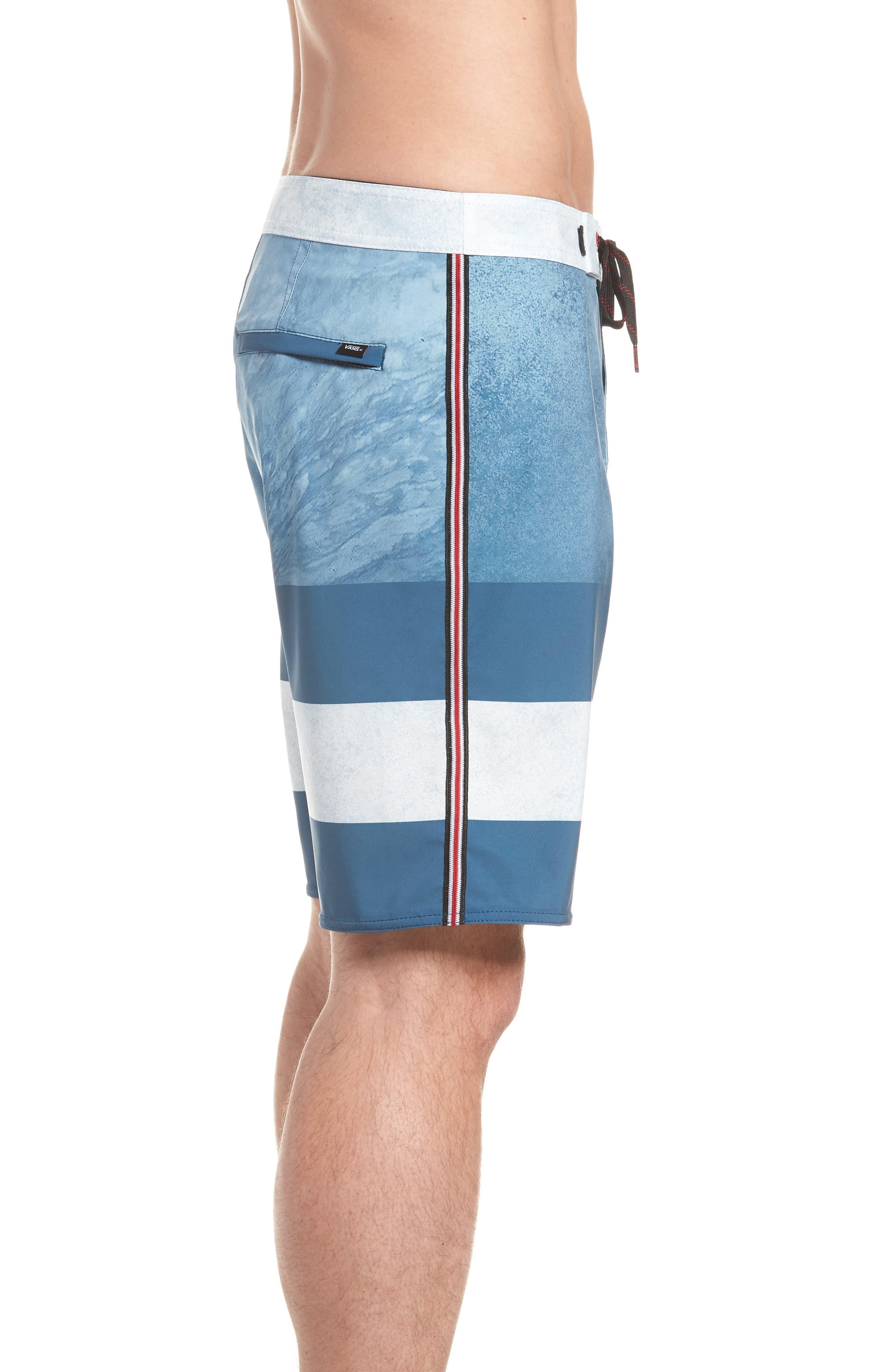 Era Board Shorts,                             Alternate thumbnail 3, color,                             Real Teal/ Nathan Florence