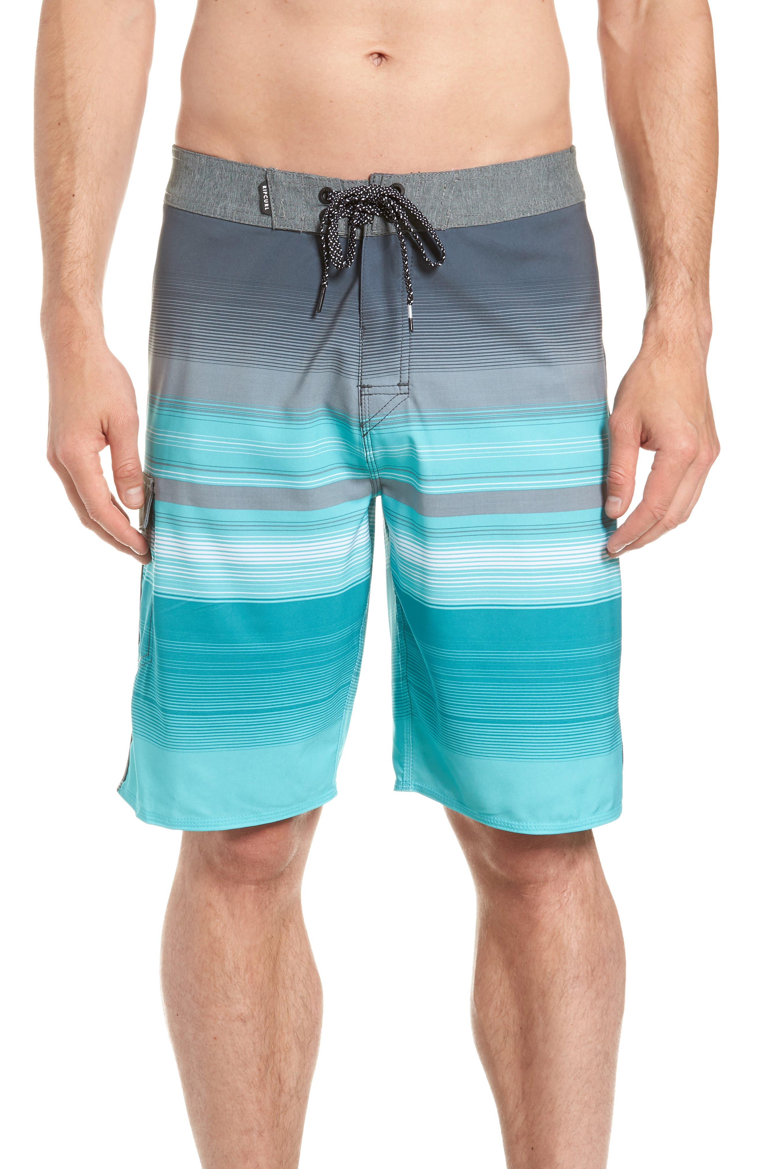 Mirage Accelerate Board Shorts,                         Main,                         color, Teal