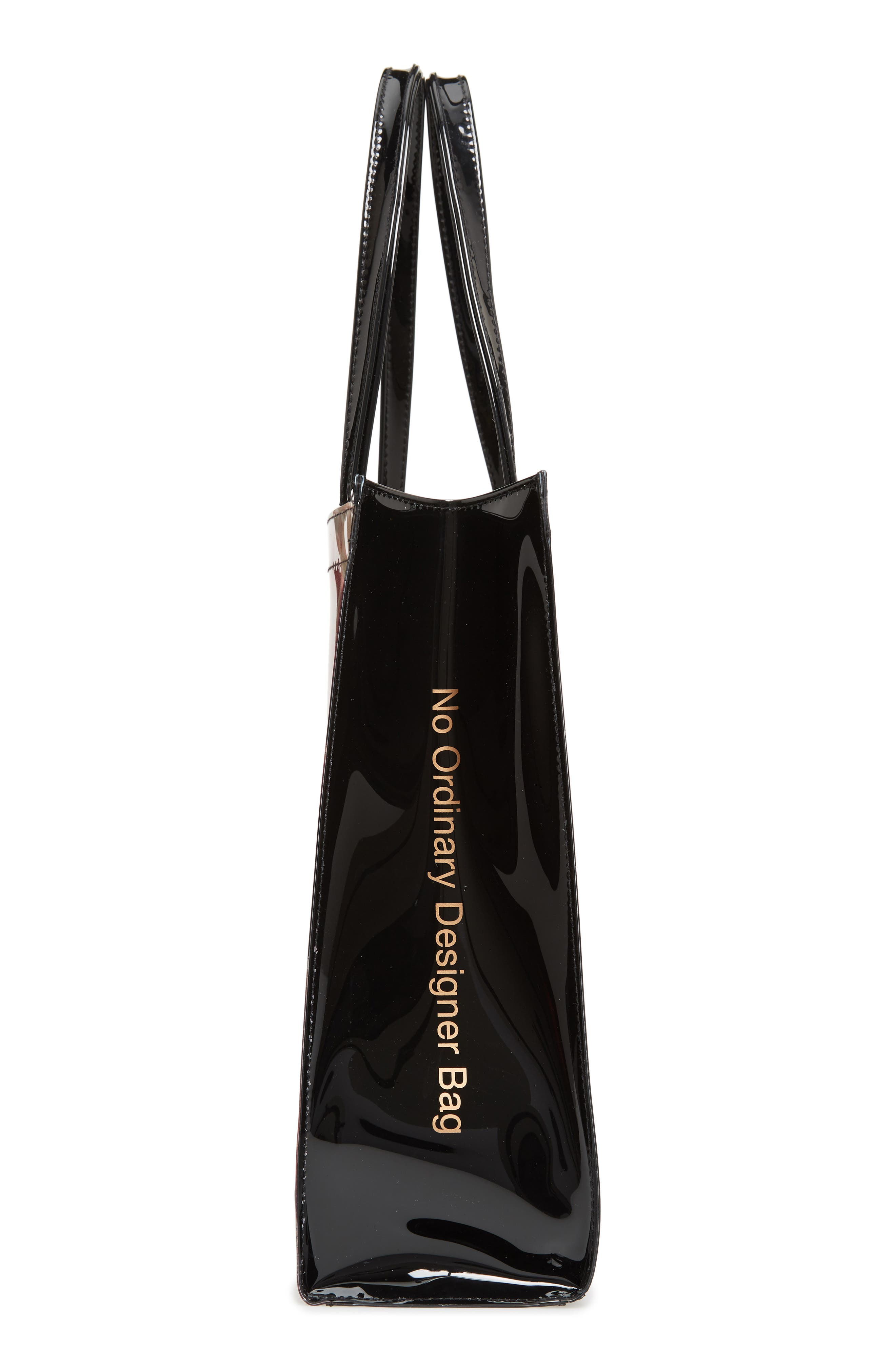 Tranquility Large Icon Tote,                             Alternate thumbnail 5, color,                             Black