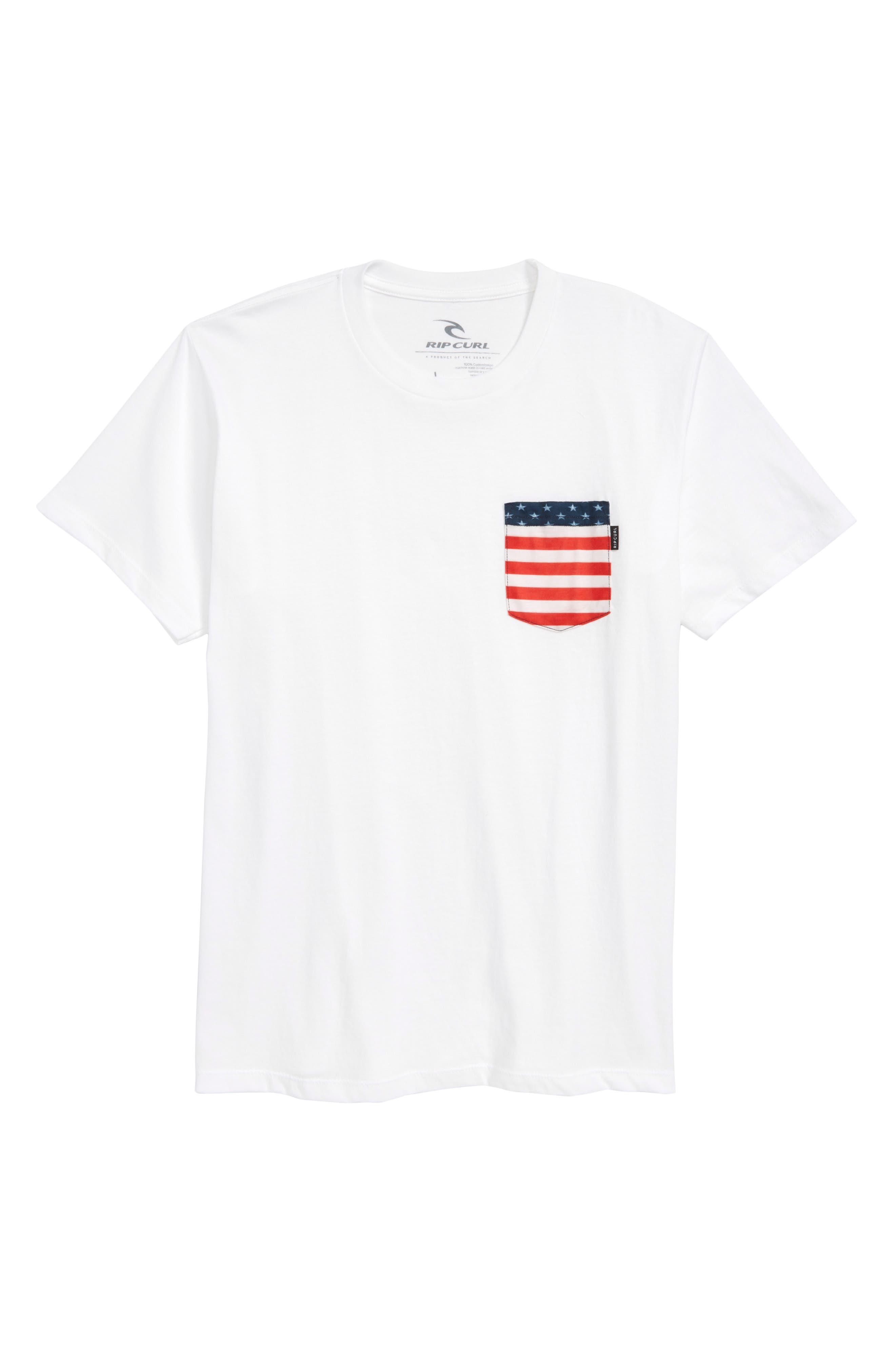 Plethera Premium Pocket T-Shirt,                         Main,                         color, Off White