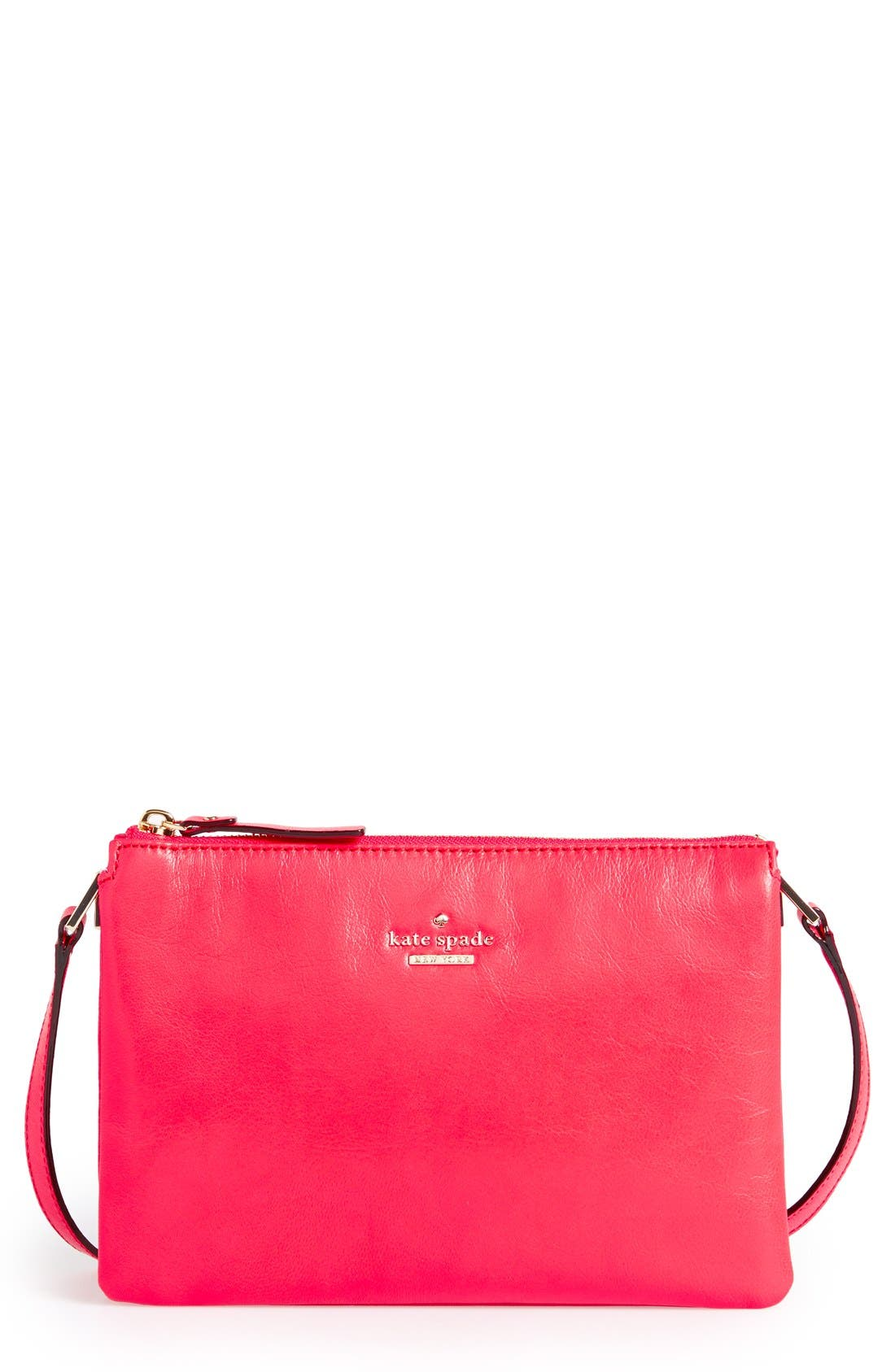 Alternate Image 1 Selected - kate spade new york 'ivy place - gabriella' leather crossbody bag