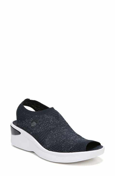 c784d14aeb BZees Secret Peep Toe Knit Sneaker (Women)