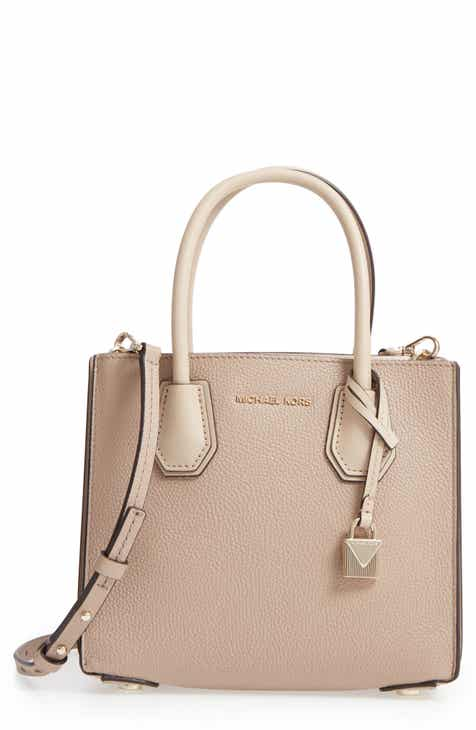 Michael Kors Medium Mercer Pebbled Leather Tote