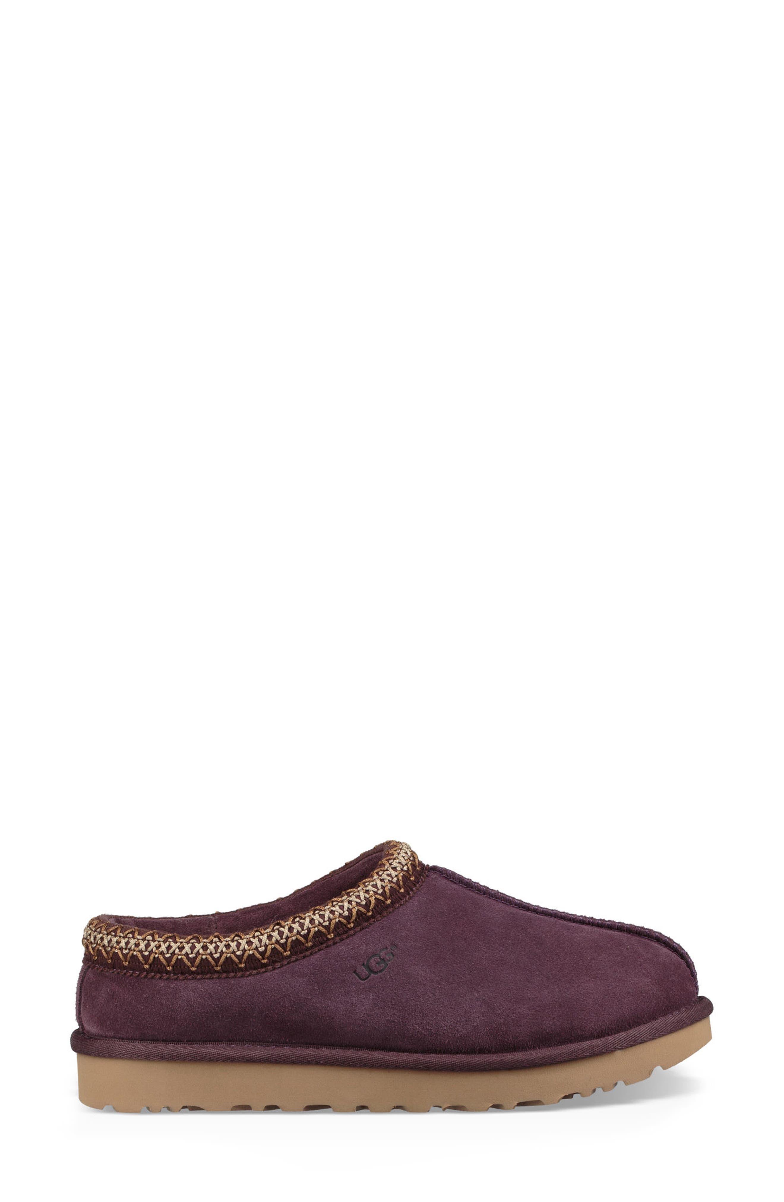'Tasman' Slipper,                             Alternate thumbnail 4, color,                             Port Leather