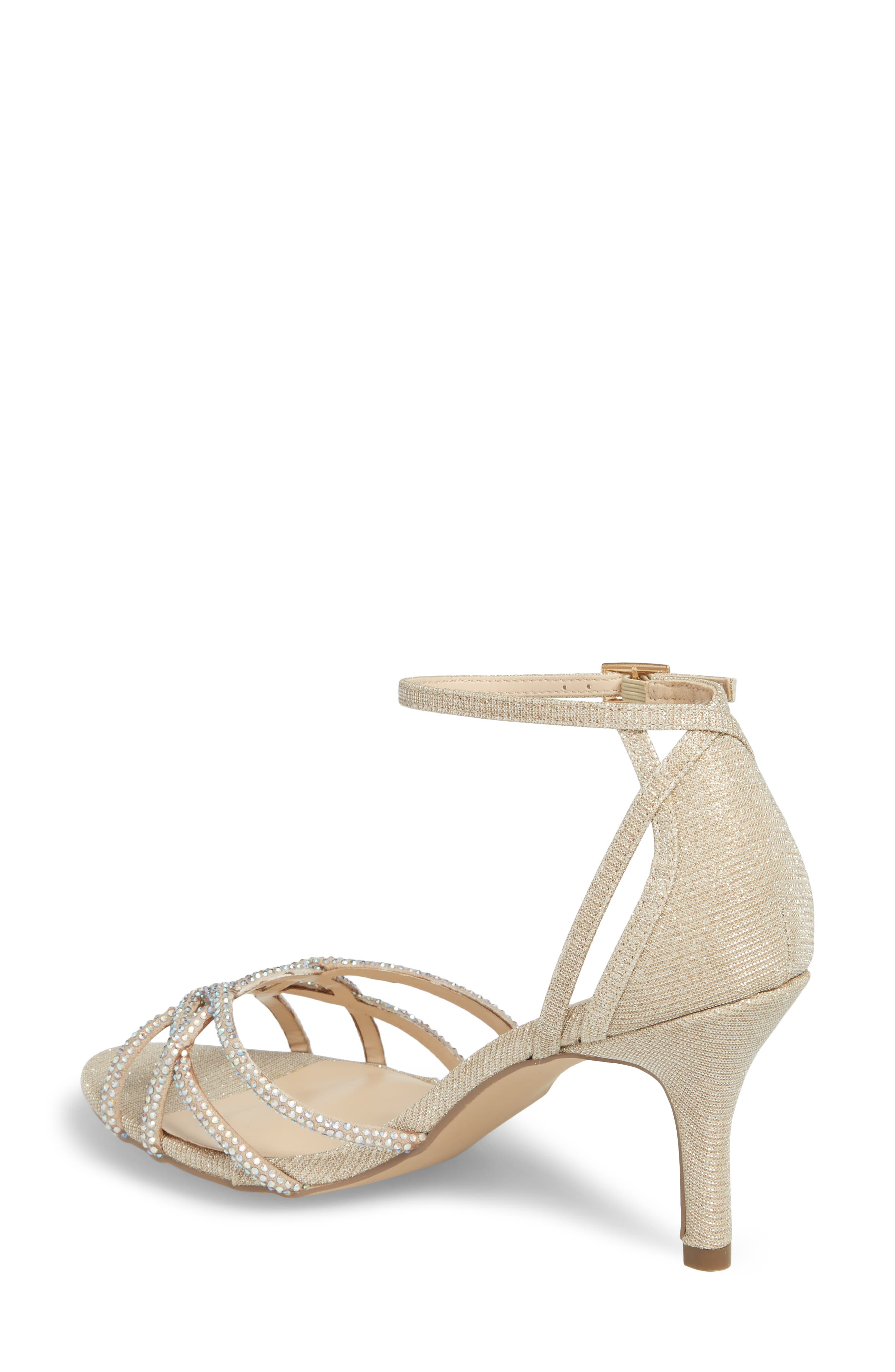 Majesty Sandal,                             Alternate thumbnail 2, color,                             Champagne Fabric