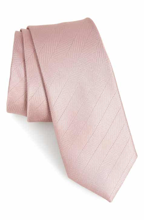 88a2d87a65 The Tie Bar Herringbone Vow Silk Tie