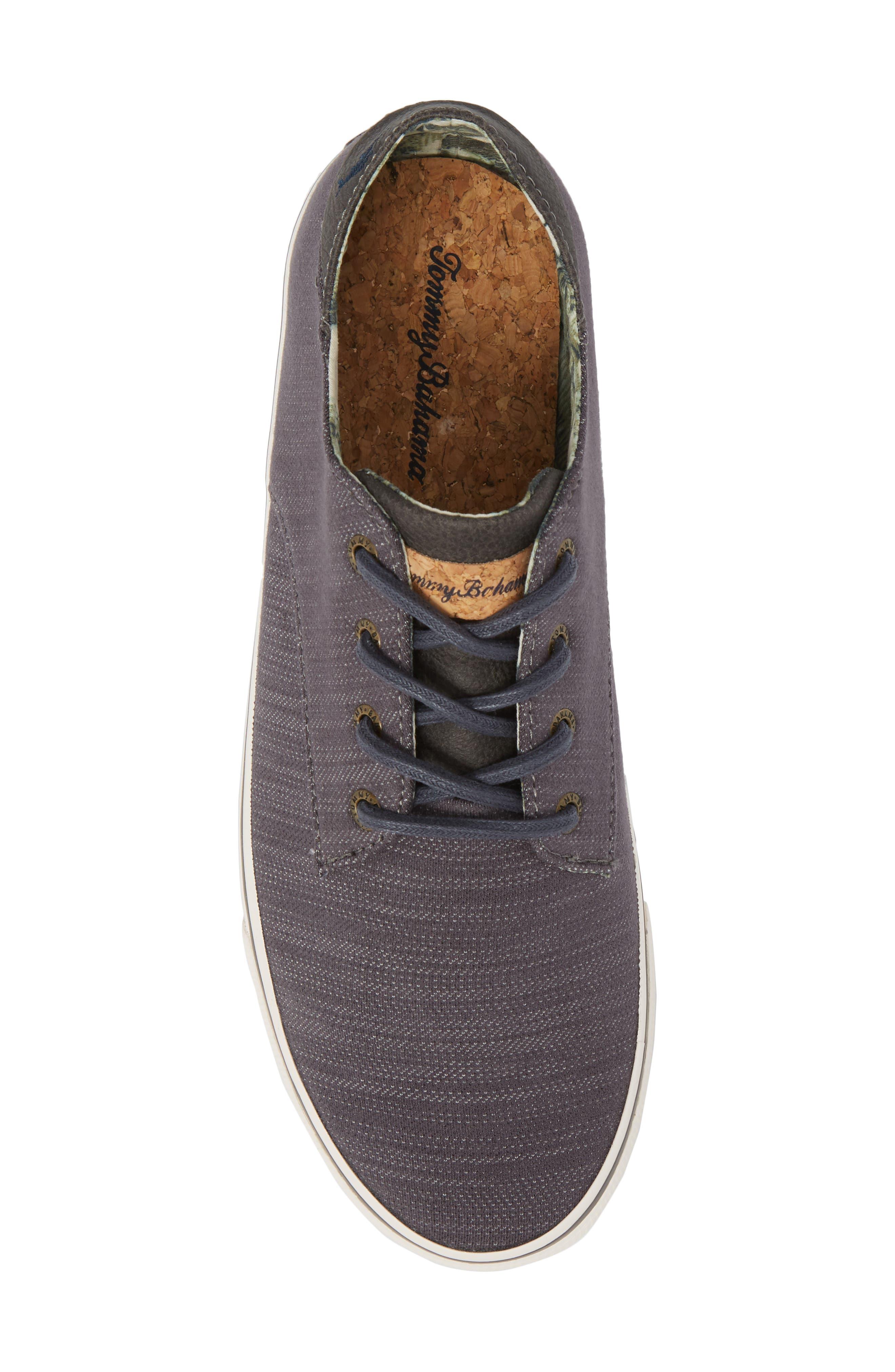 Dune Sneaker,                             Alternate thumbnail 5, color,                             Grey Denim