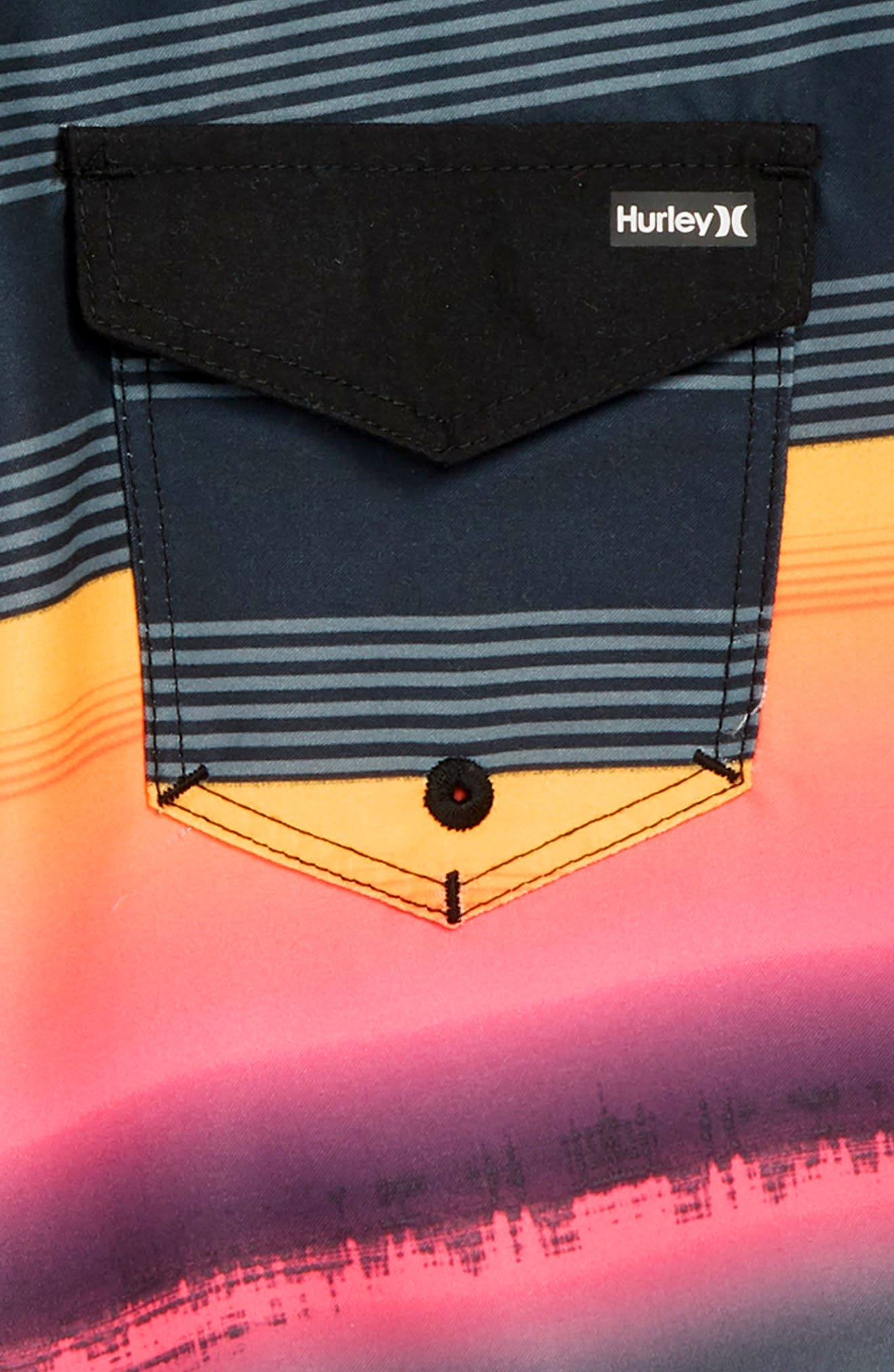 Gavitos Board Shorts,                             Alternate thumbnail 3, color,                             Black