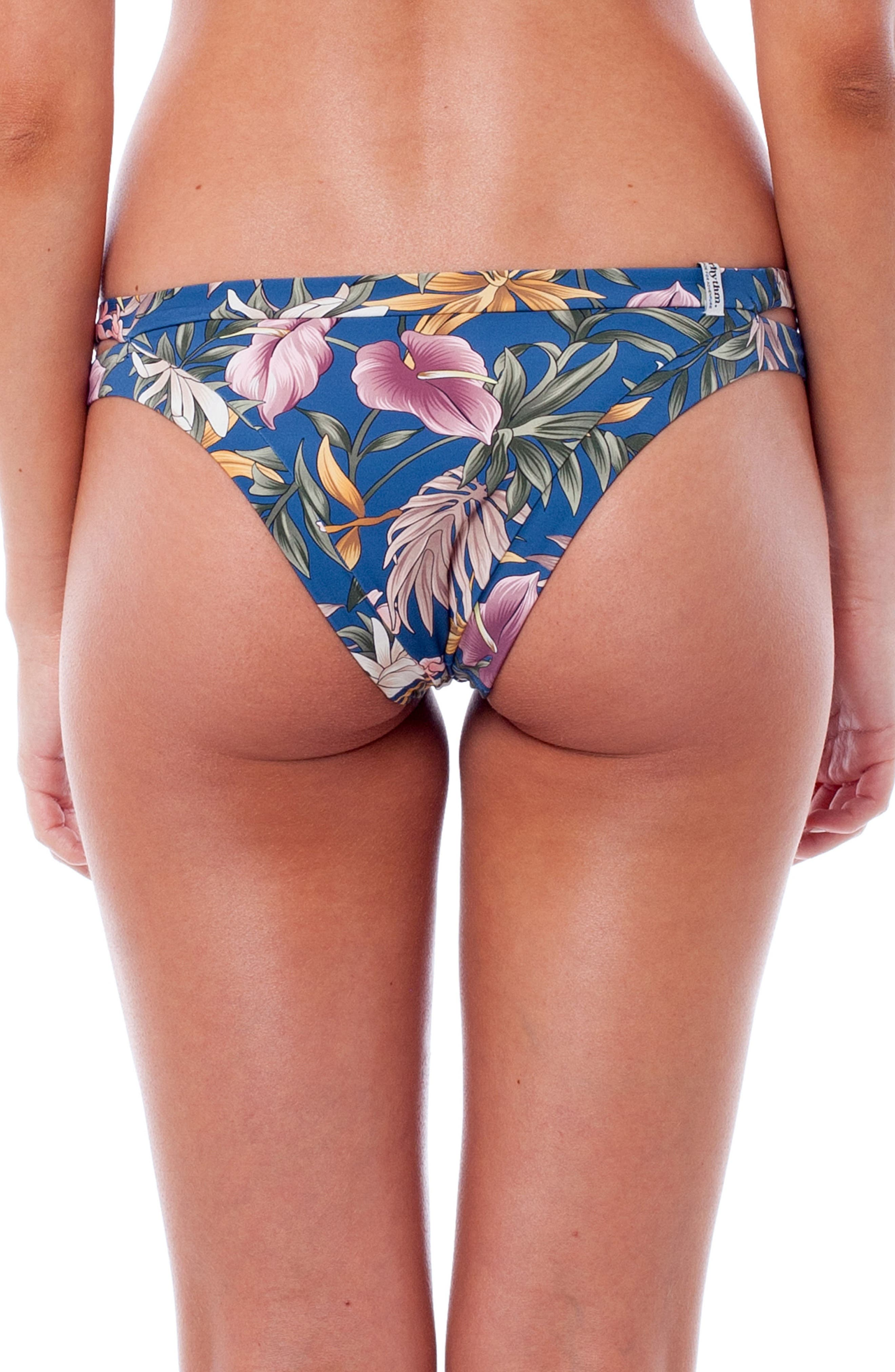Bermuda Itsy Bikini Bottoms,                             Alternate thumbnail 2, color,                             Sea