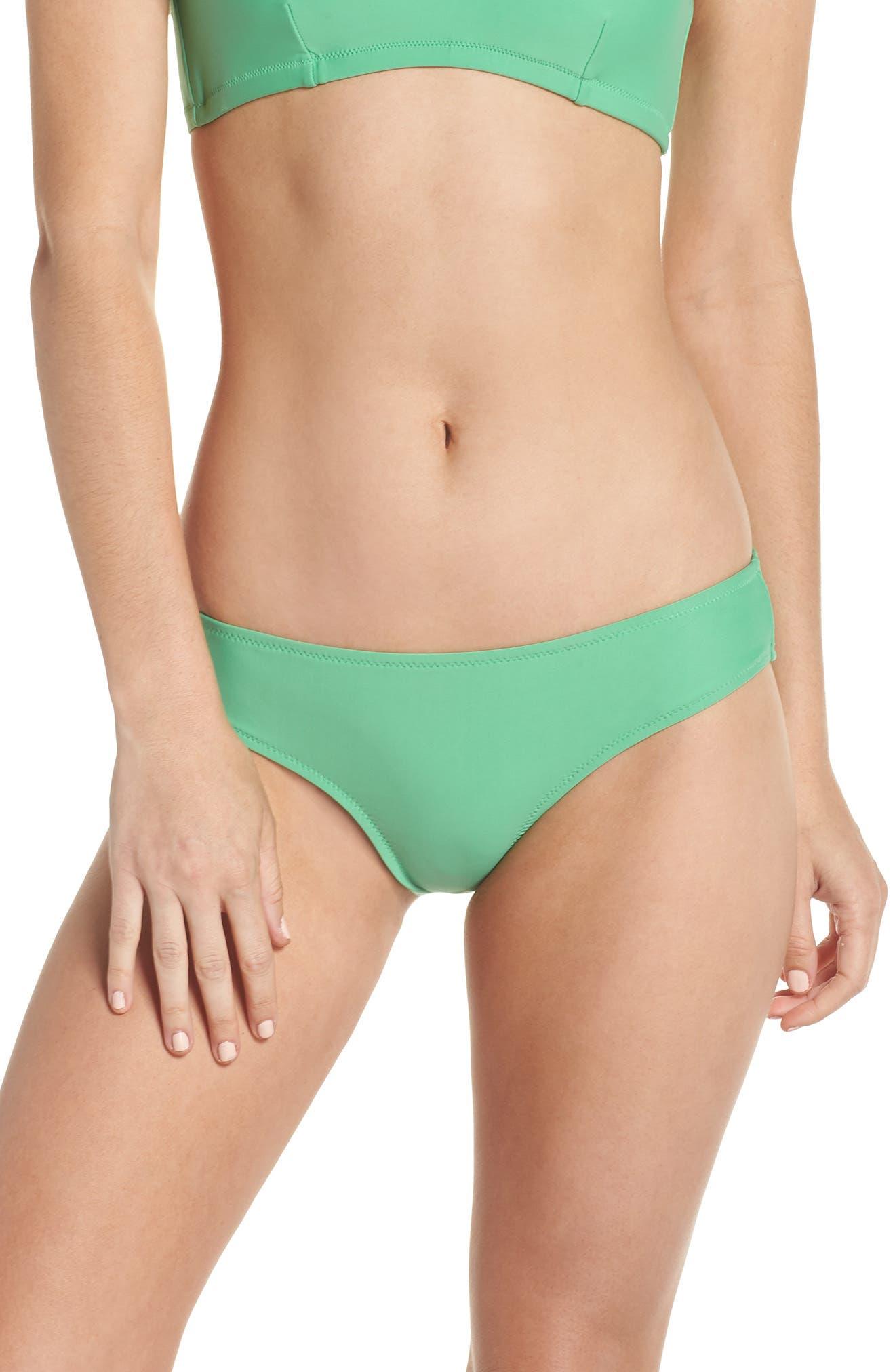 J.Crew Hipster Bikini Bottoms,                         Main,                         color, Bright Spearmint