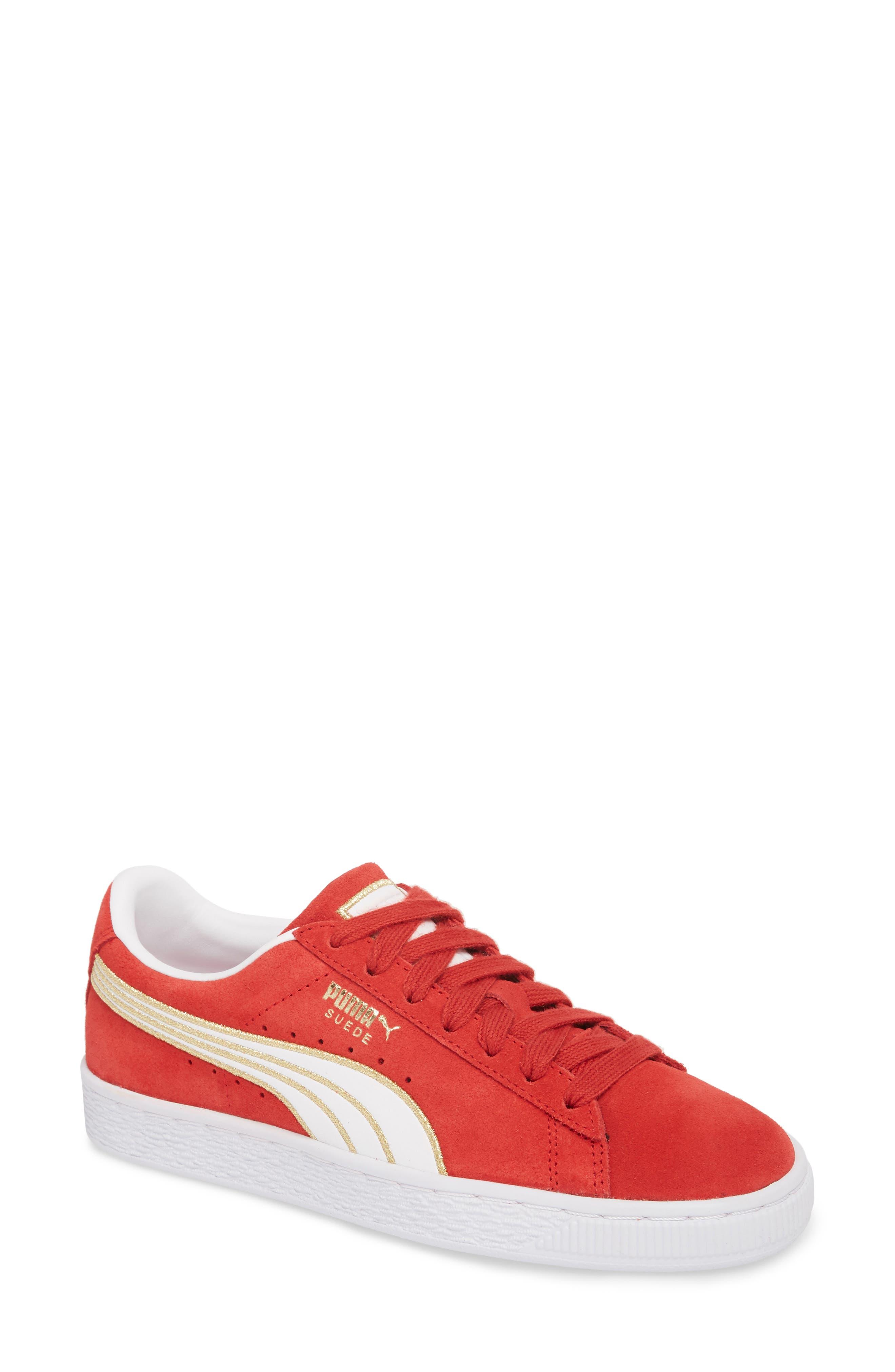 a4eba9d5508 red high top pumas Sale