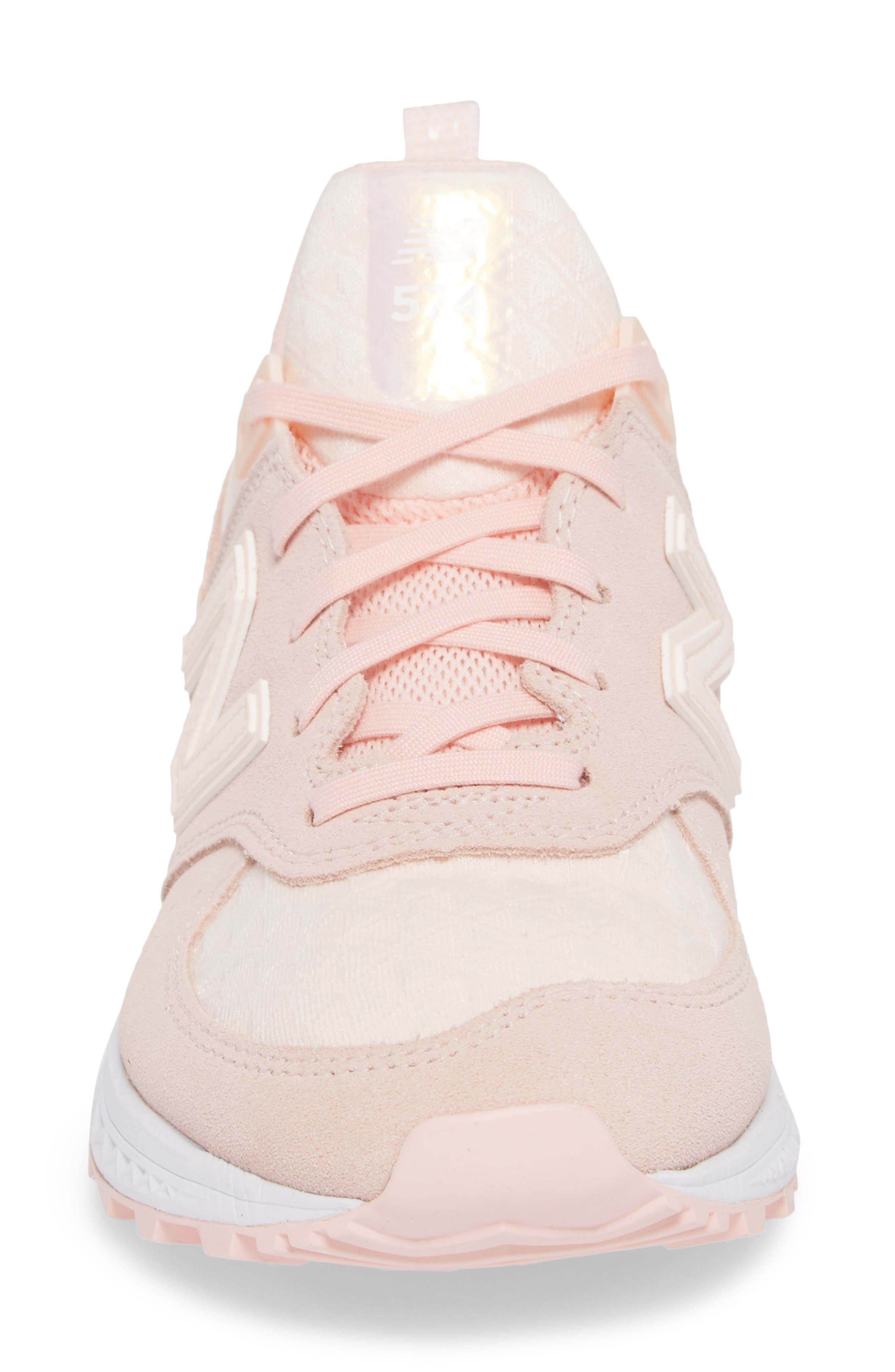 '574' Sneaker,                             Alternate thumbnail 4, color,                             Sunrise Glow