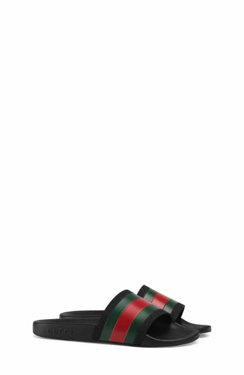 c08abc583e593 Gucci Pursuit Slide Sandal (Toddler