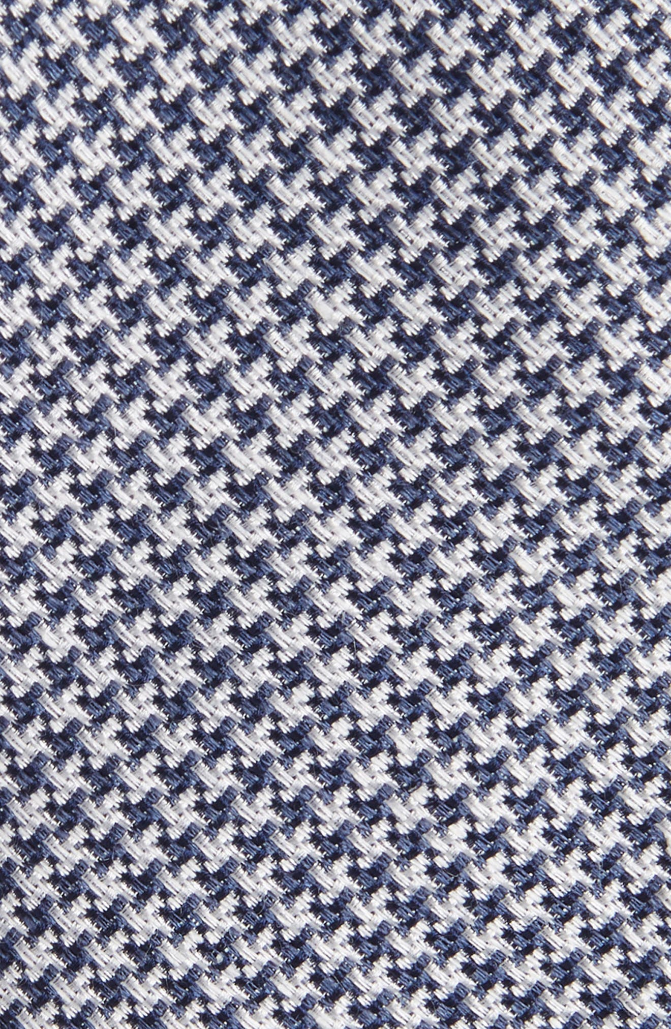 Wyden Linen & Silk Tie,                             Alternate thumbnail 2, color,                             Navy