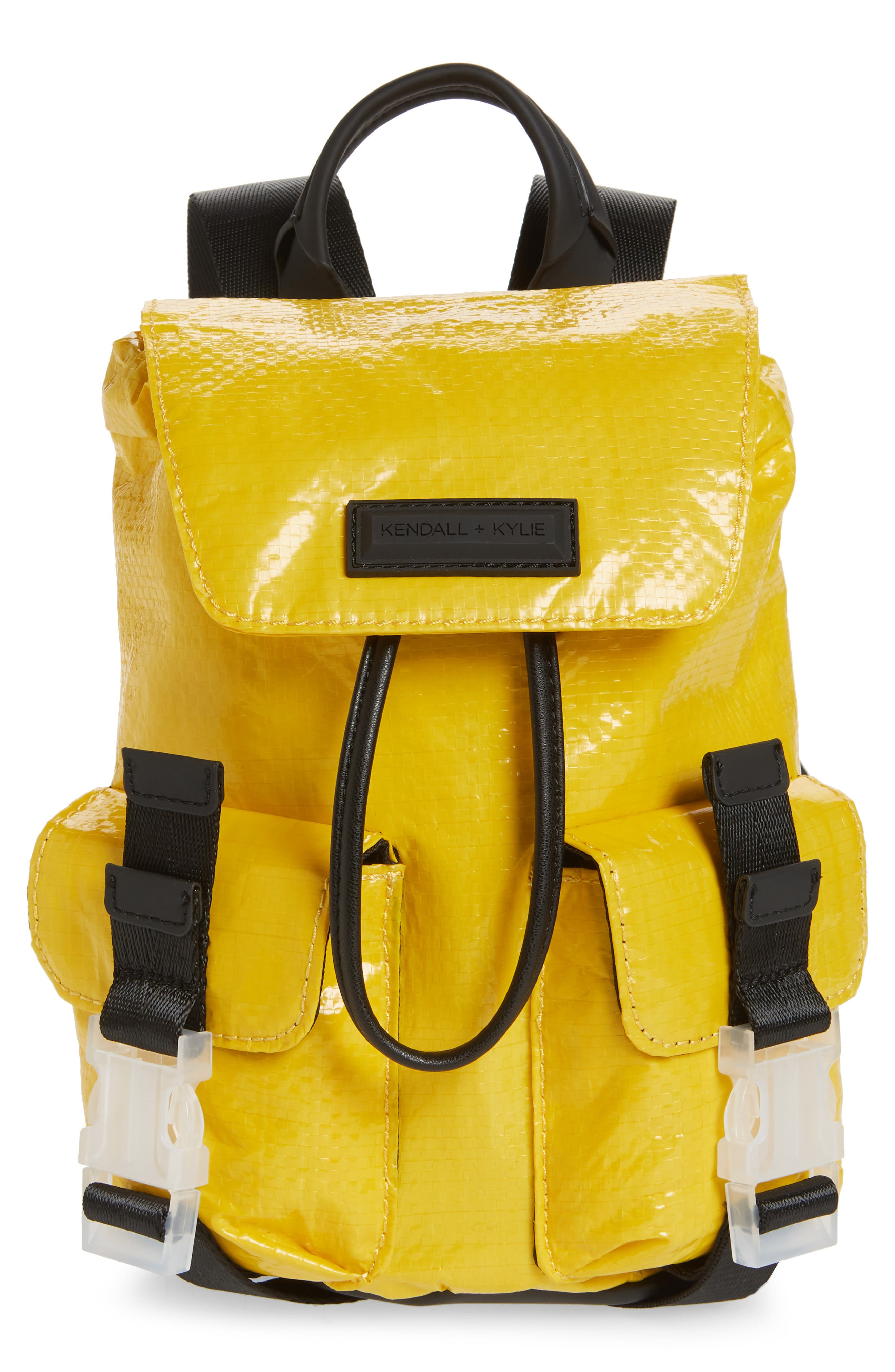 Mini Parker Water Resistant Backpack,                             Main thumbnail 1, color,                             Yellow