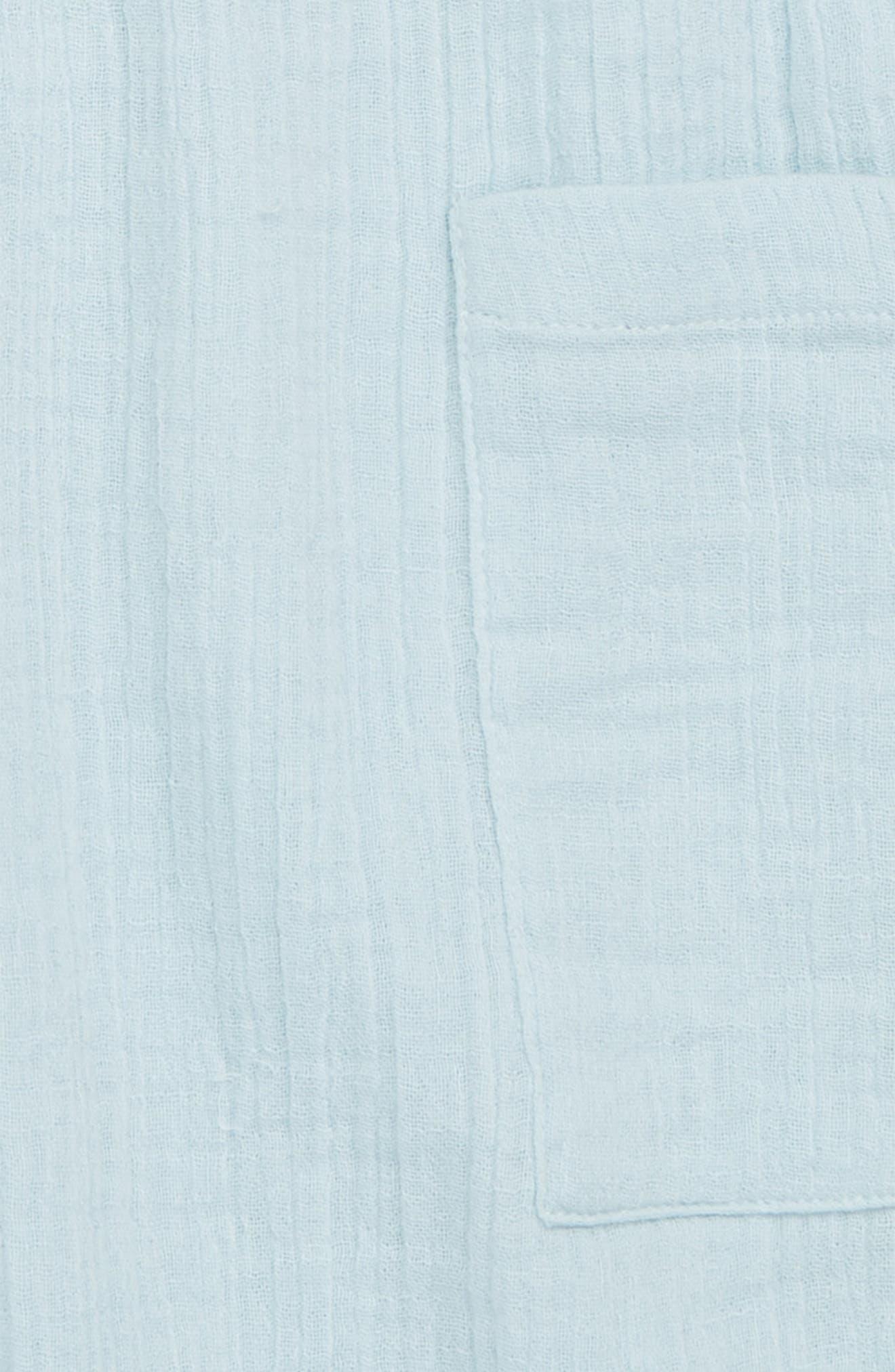 Crepe Moon Shorts,                             Alternate thumbnail 2, color,                             Blue Sterling