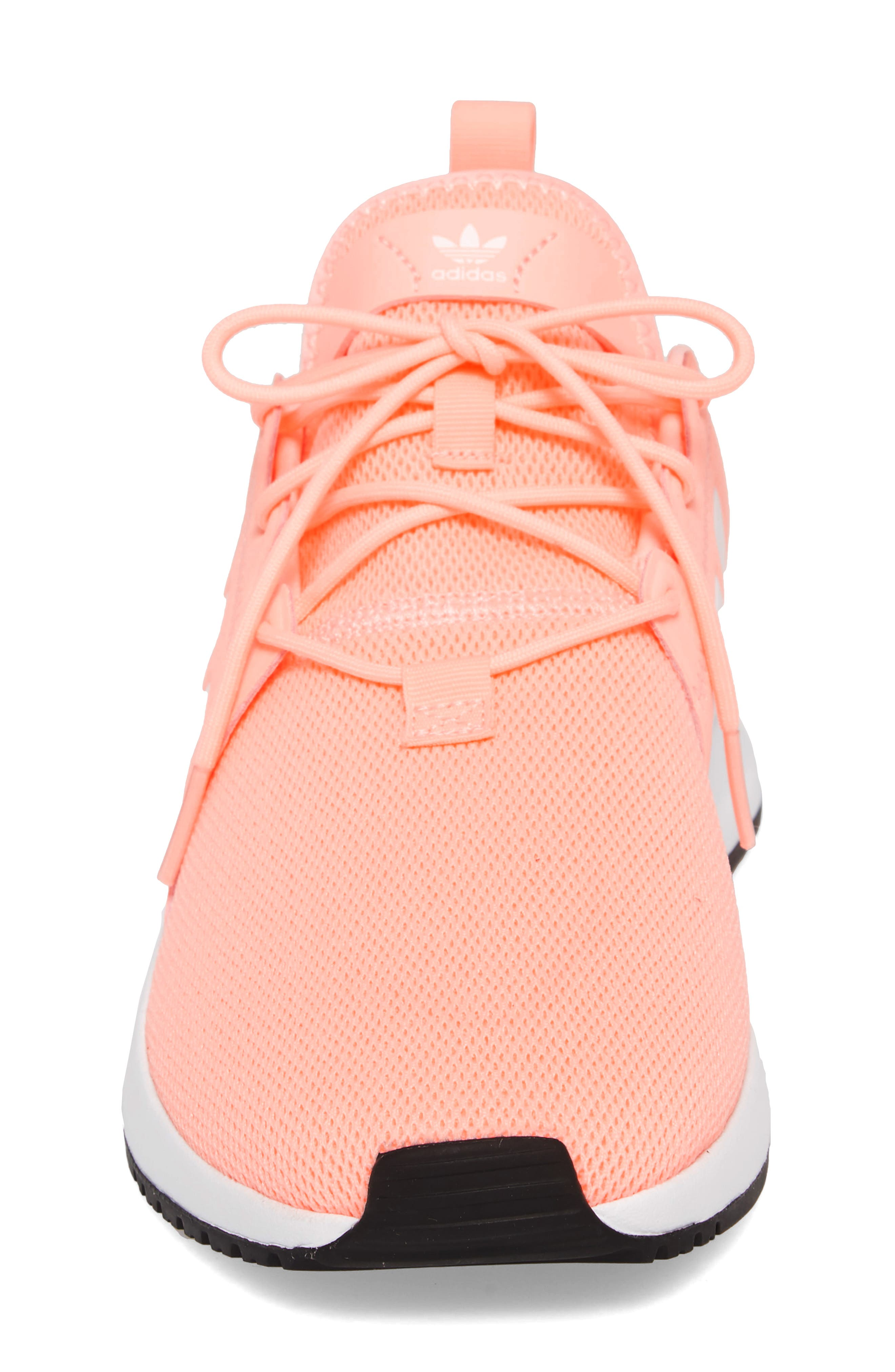 X_PLR Sneaker,                             Alternate thumbnail 5, color,                             Clear Orange/ White
