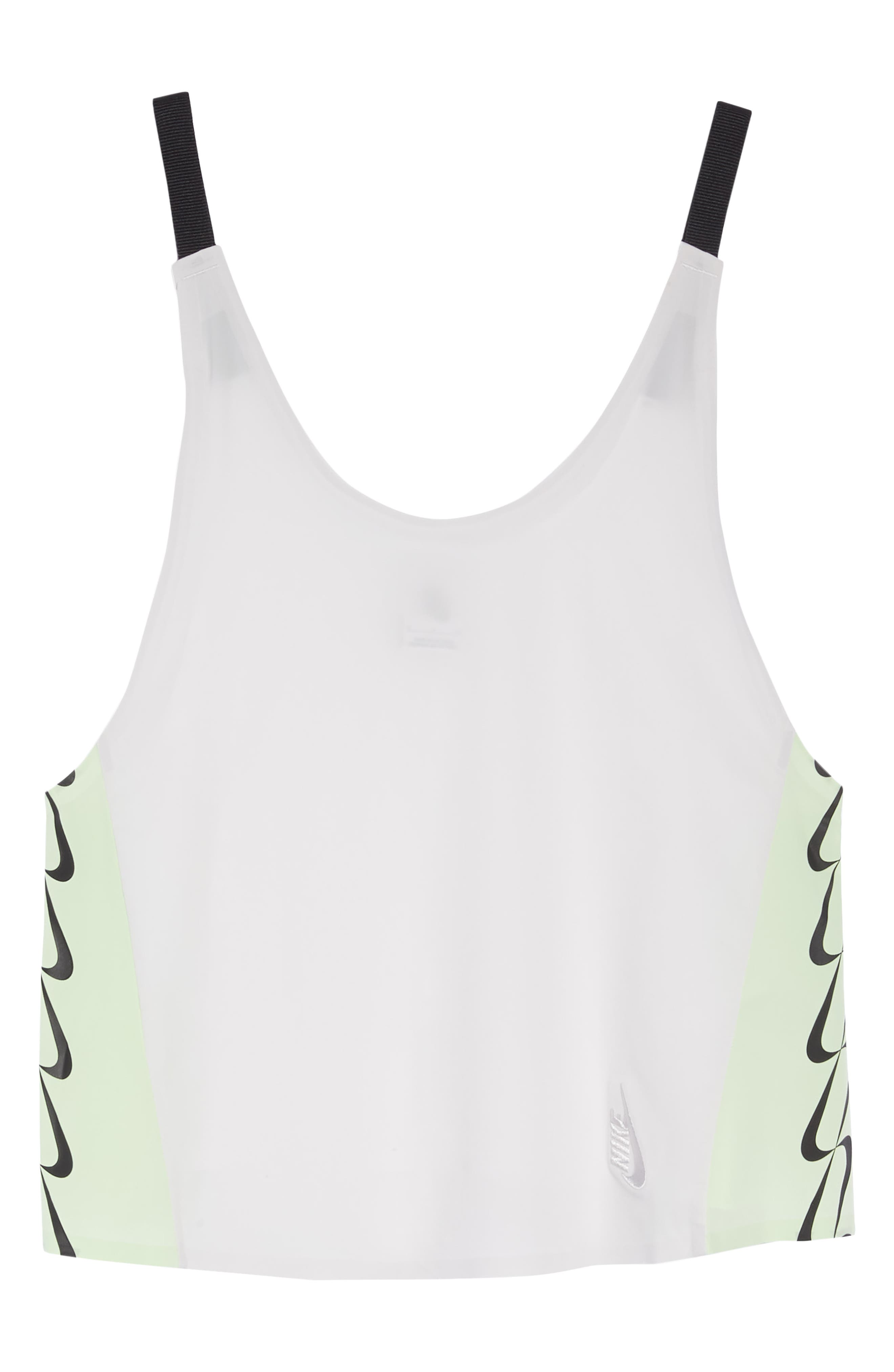 NRG Women's Colorblock Tank,                             Alternate thumbnail 7, color,                             Vast Grey/ White/ Vapor Green