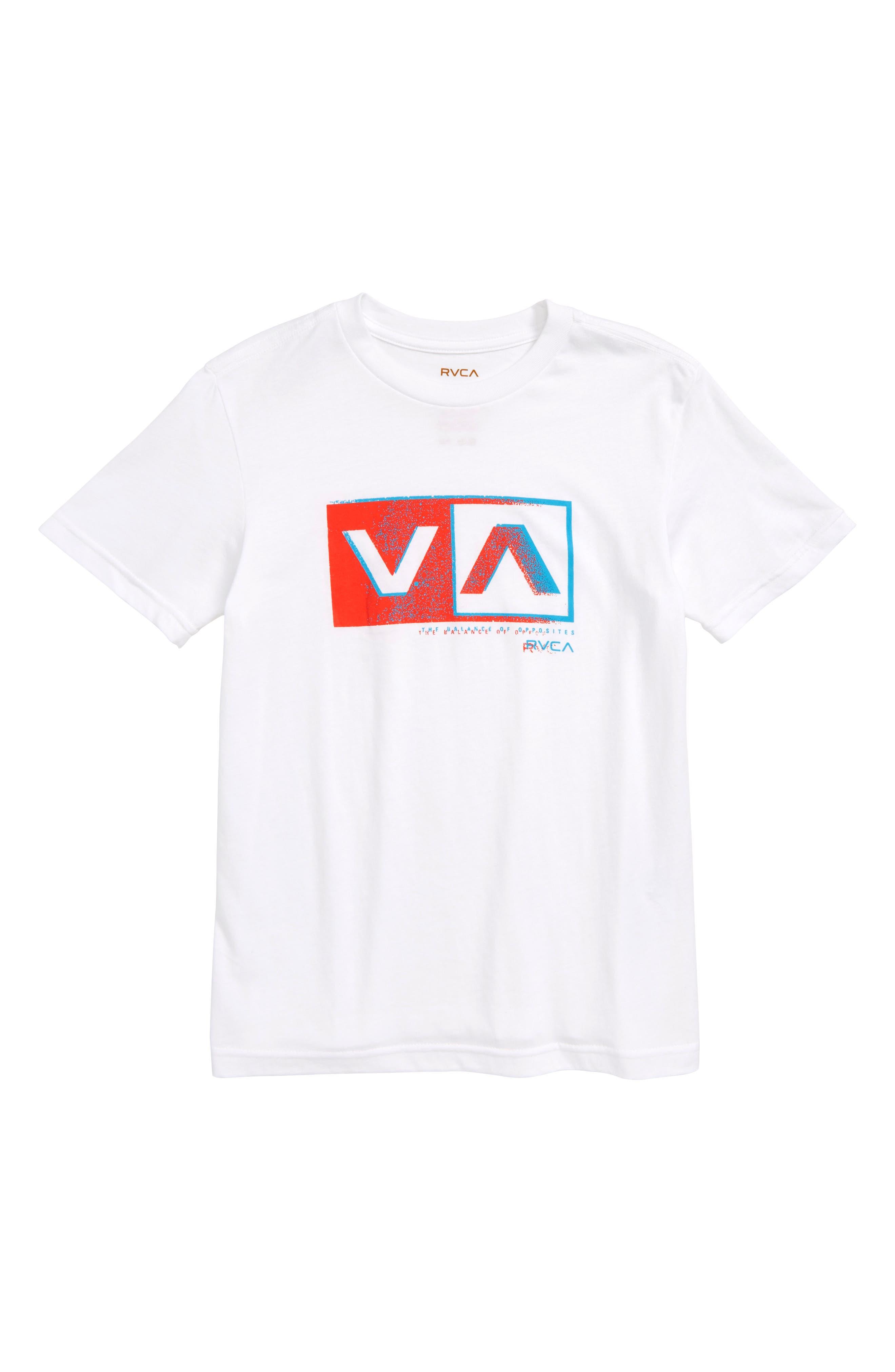 Static Box Graphic T-Shirt,                         Main,                         color, White