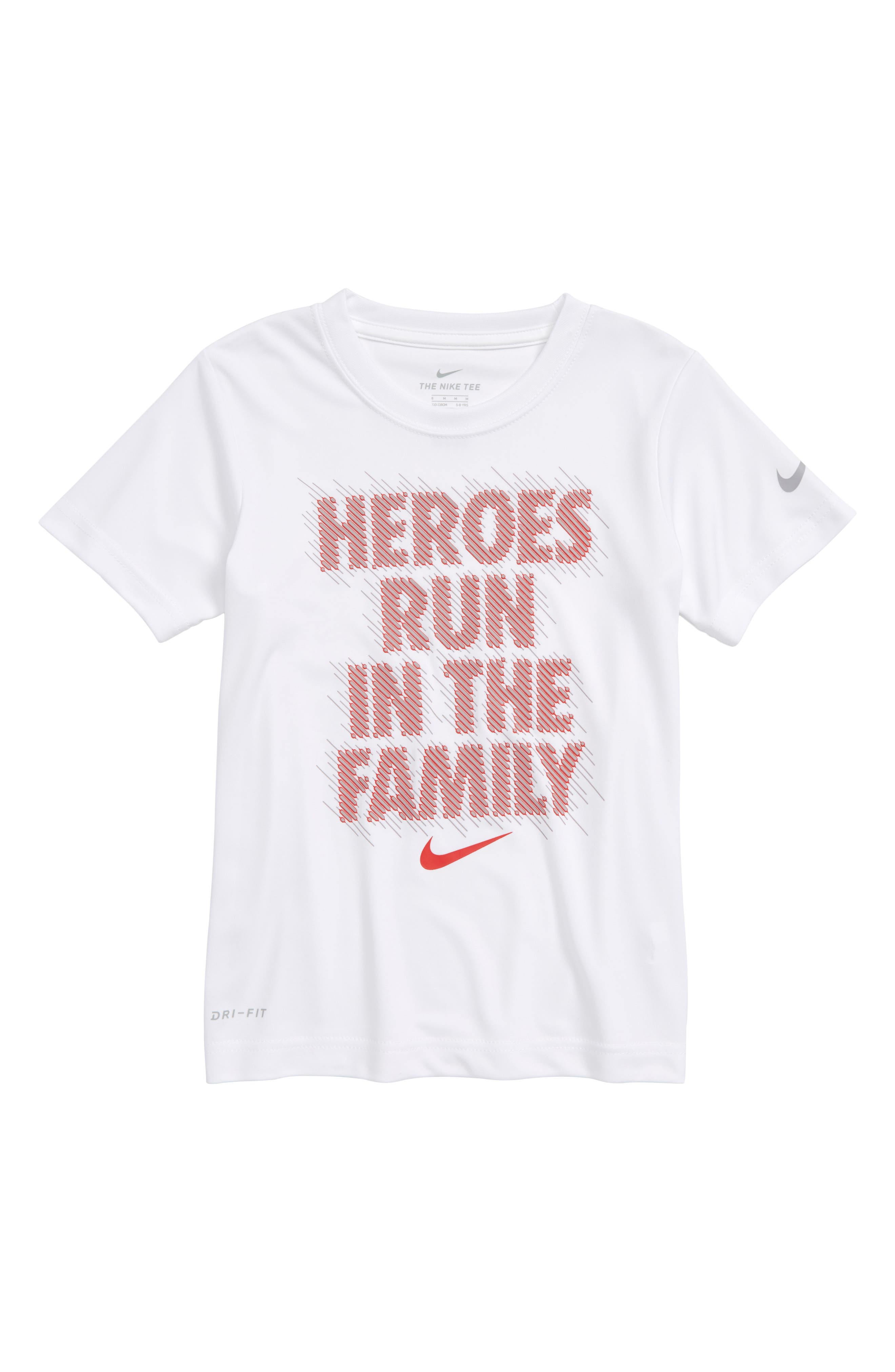Dry Optical Heroes Graphic T-Shirt,                             Main thumbnail 1, color,                             White