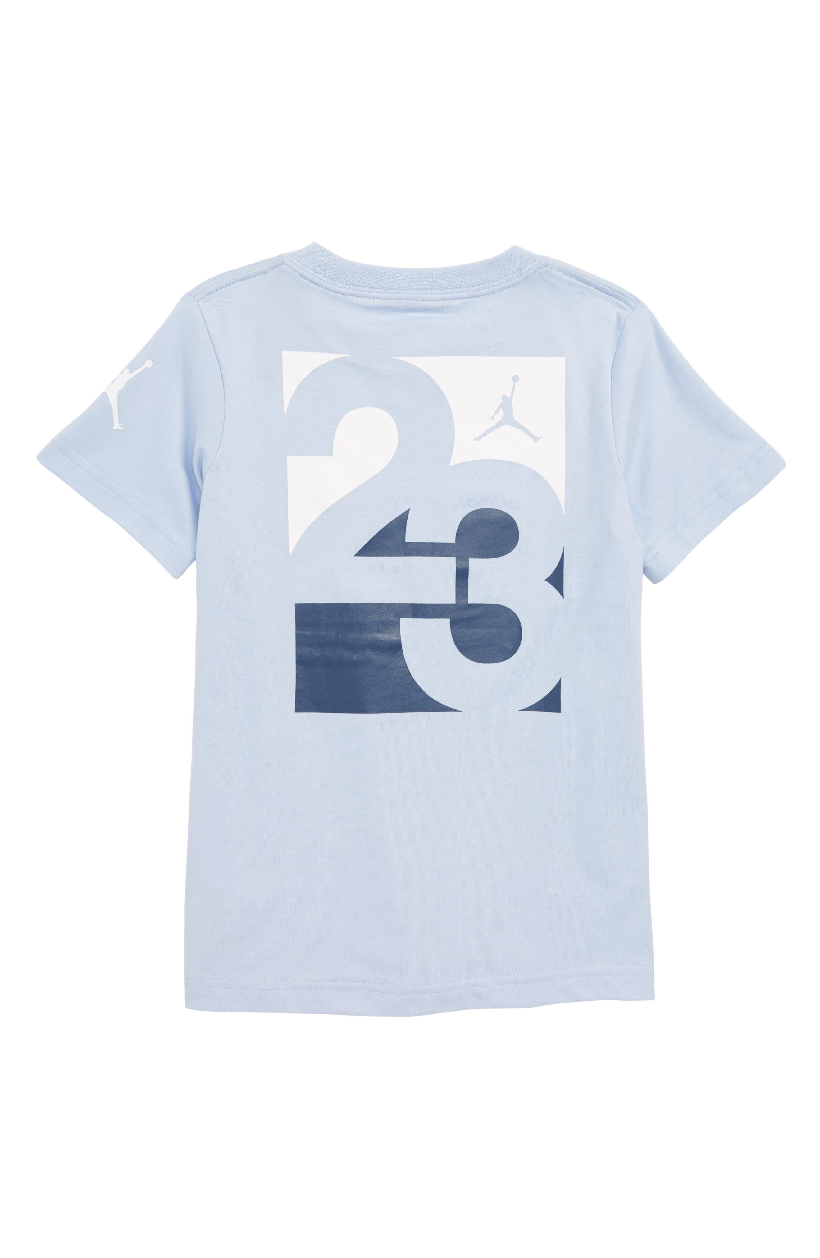 Nike Jordan Racked Up Graphic T-Shirt,                             Alternate thumbnail 2, color,                             Cobalt Bliss