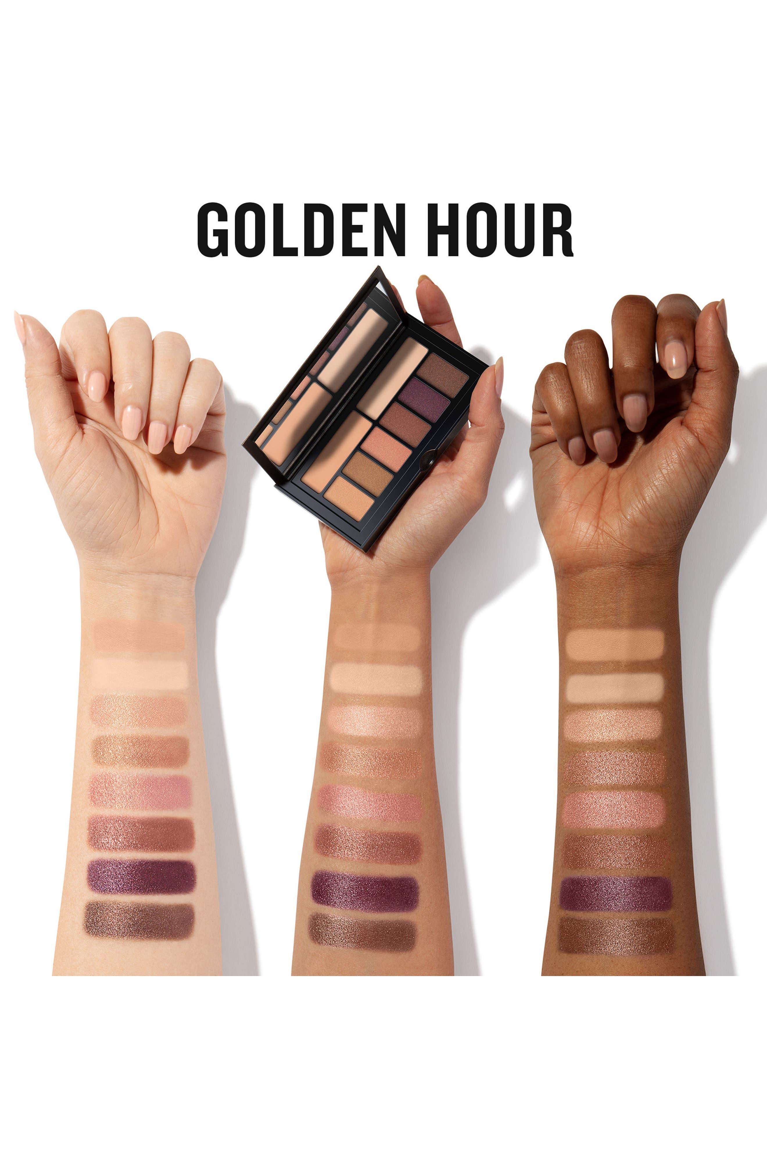 Cover Shot Eyeshadow Palette,                             Alternate thumbnail 4, color,                             Golden Hour
