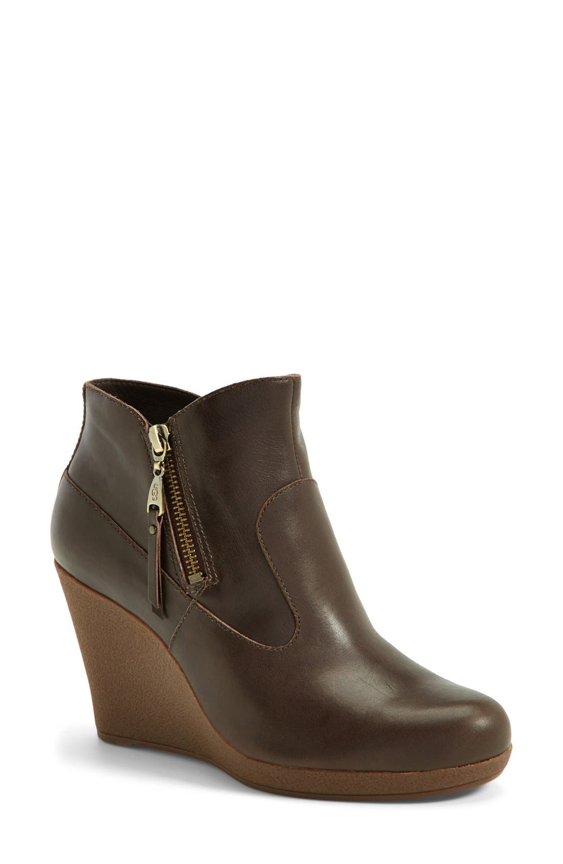 Alternate Image 1 Selected - UGG® Australia 'Meredith' Wedge Bootie (Women)