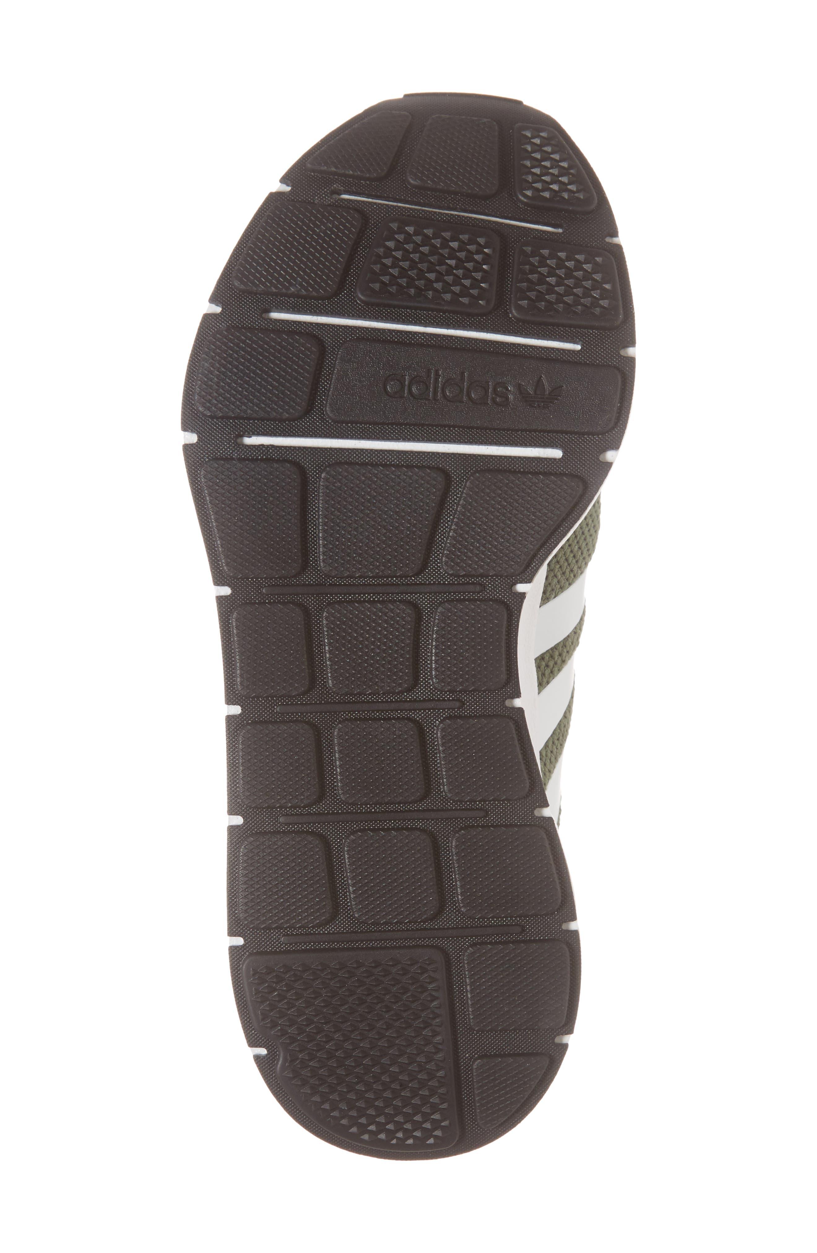Swift Run Sneaker,                             Alternate thumbnail 6, color,                             Base Green/ White/ Black
