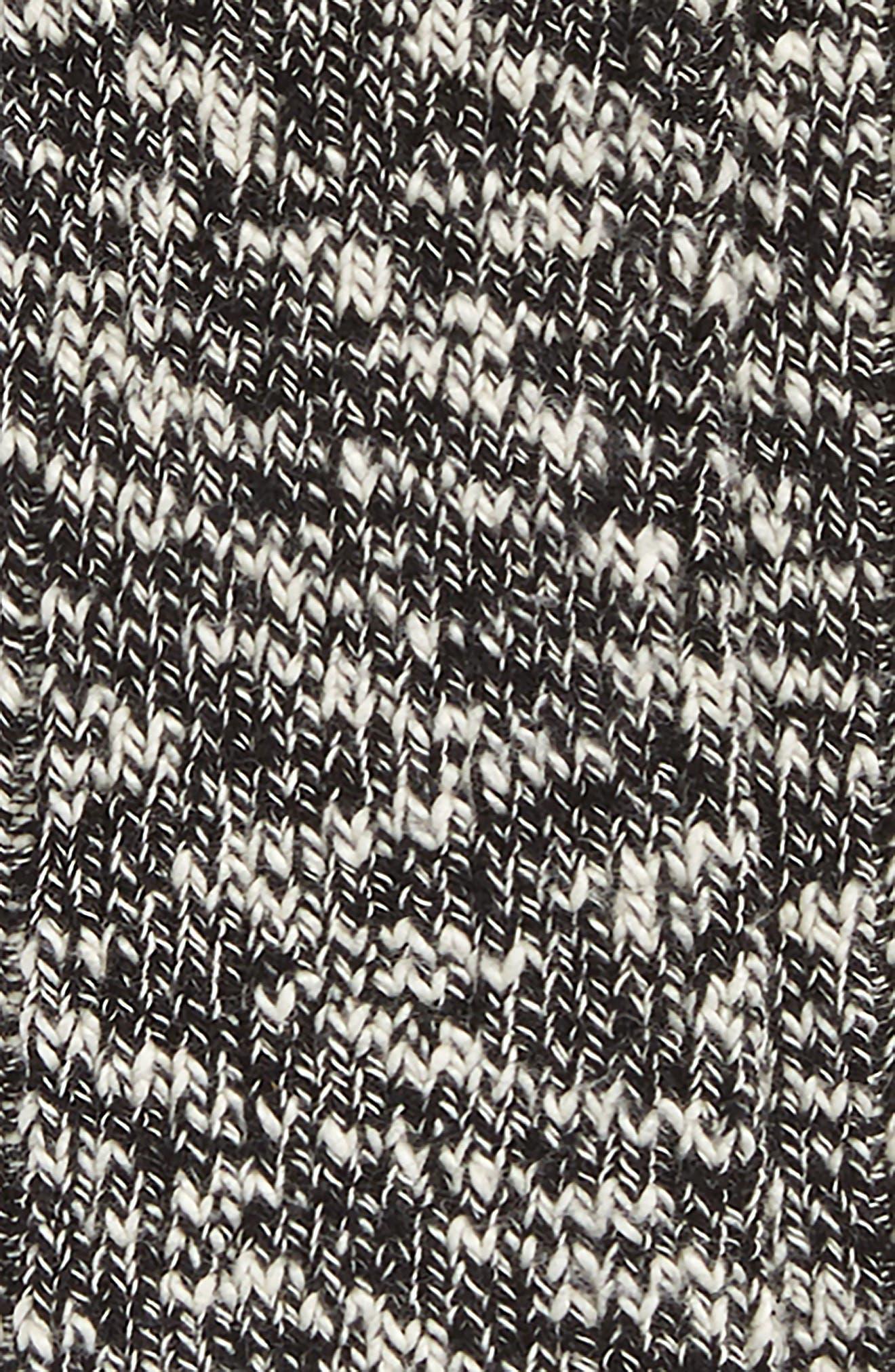 Rick Owens x Birkenstock Tall Socks,                             Alternate thumbnail 2, color,                             Melange Heather