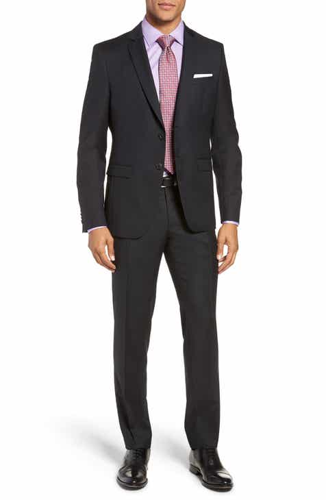 BOSS Reymond Wenten Slim Fit Check Wool Suit 71b30f8bb