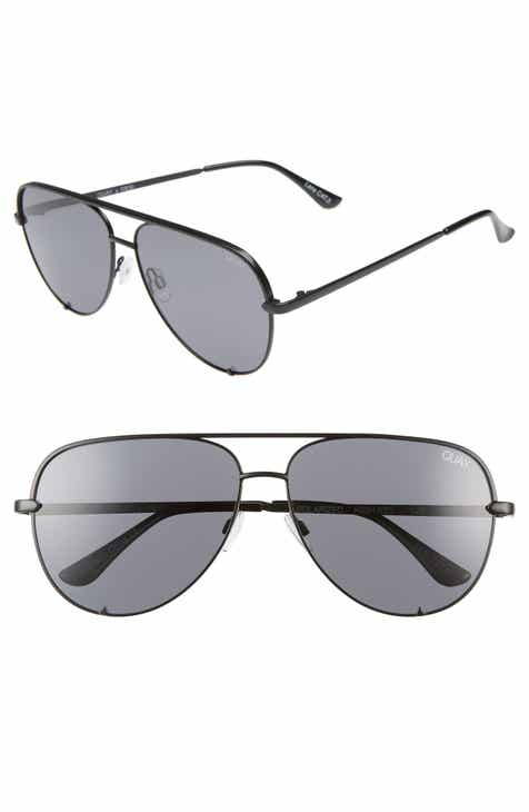 2547b3b9eb8 Quay Australia x Desi Perkins High Key 62mm Aviator Sunglasses