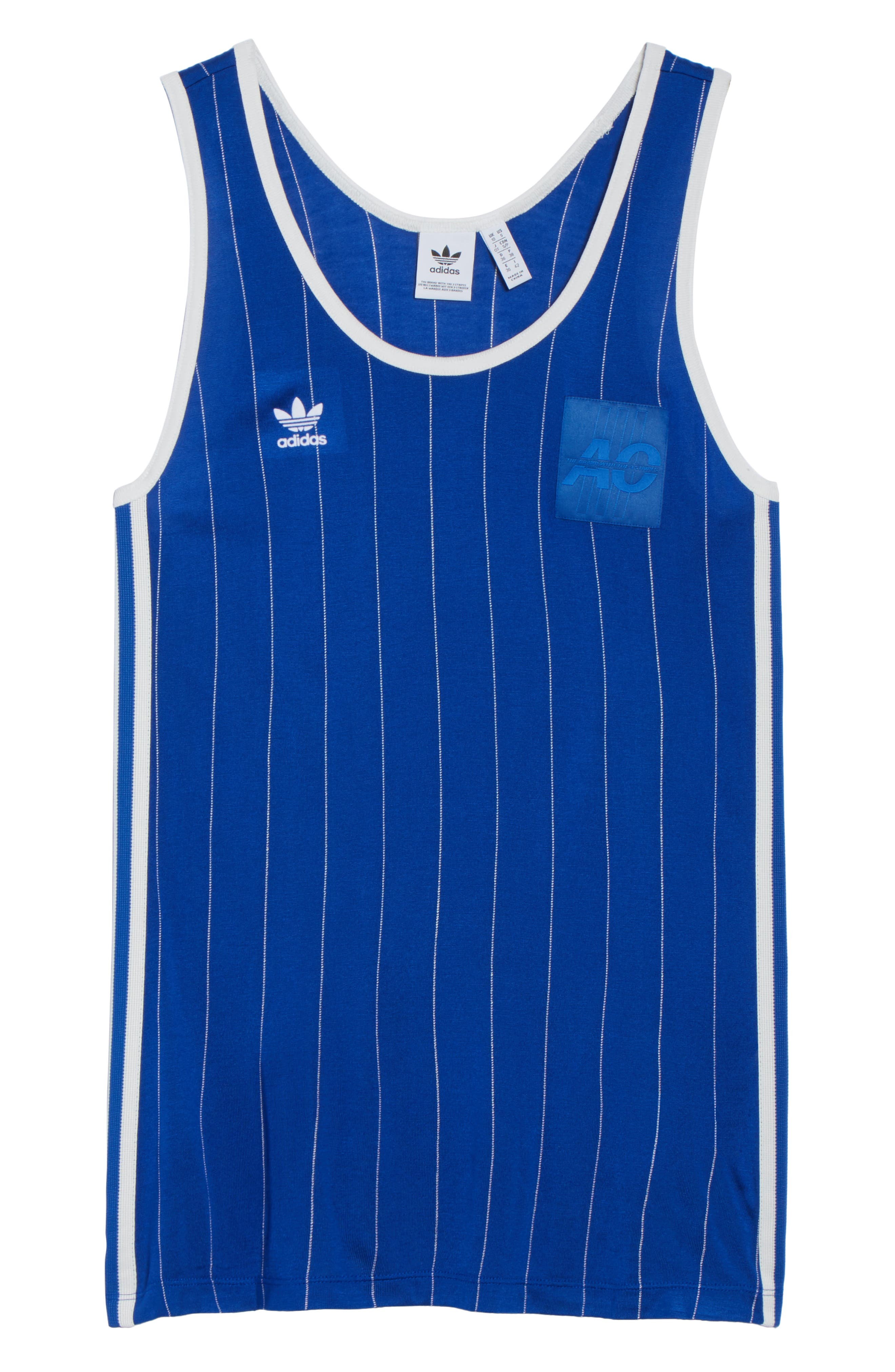 Originals Fashion League Retro Tank,                             Alternate thumbnail 6, color,                             Collegiate Royal/ White